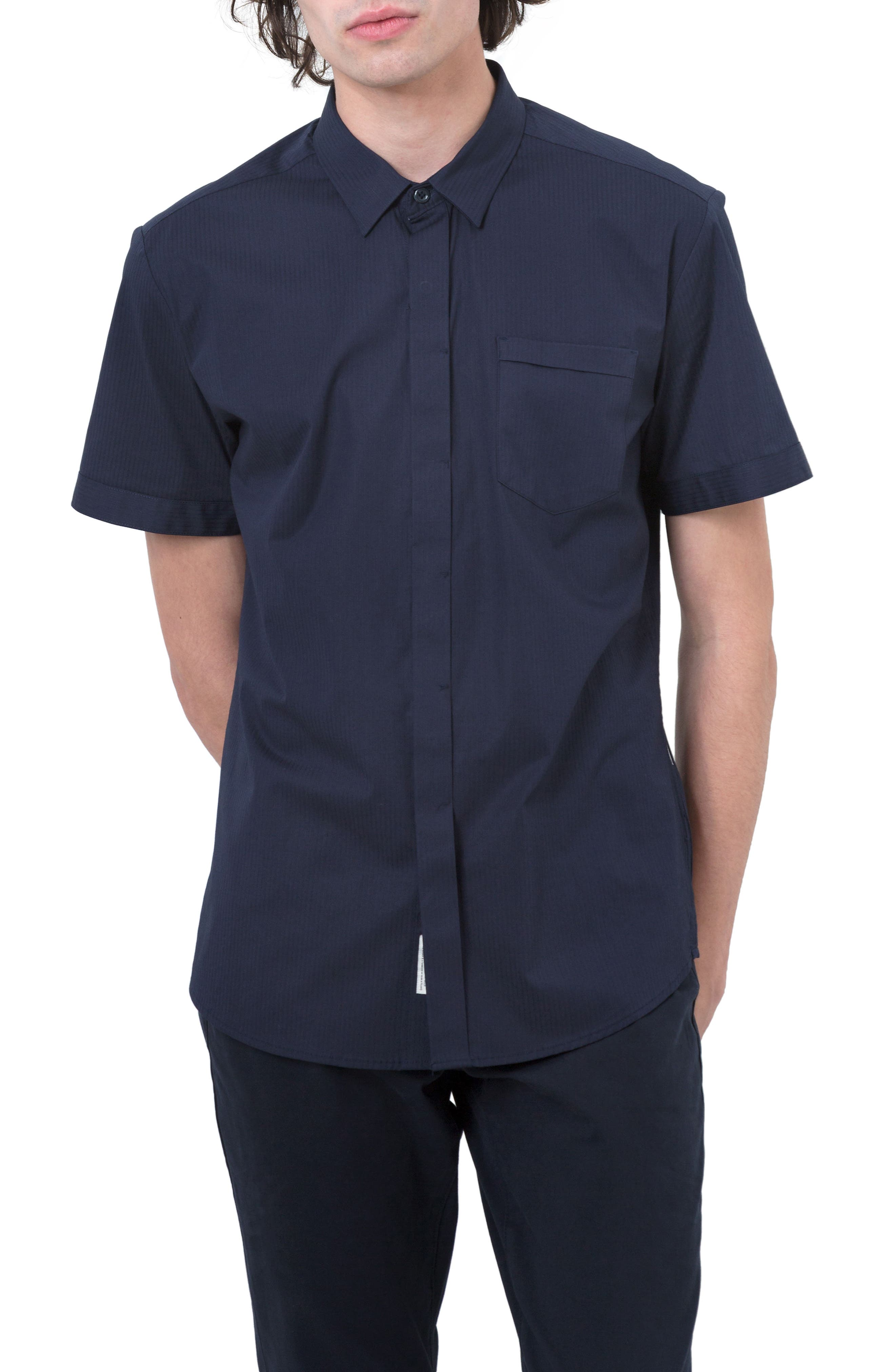 Main Image - 7 Diamonds City Savior Woven Shirt
