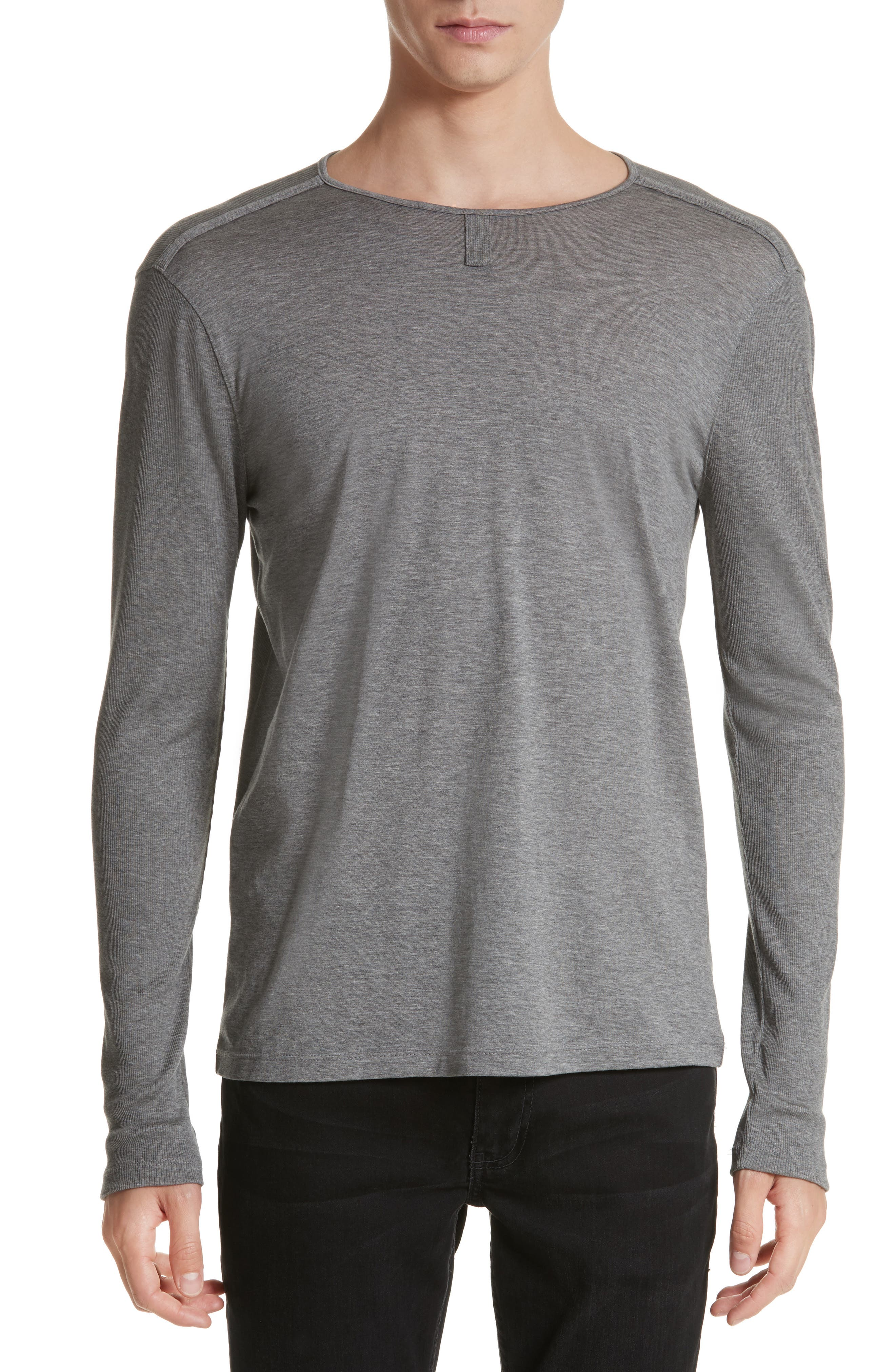 Alternate Image 1 Selected - John Varvatos Collection Tab Crewneck T-Shirt