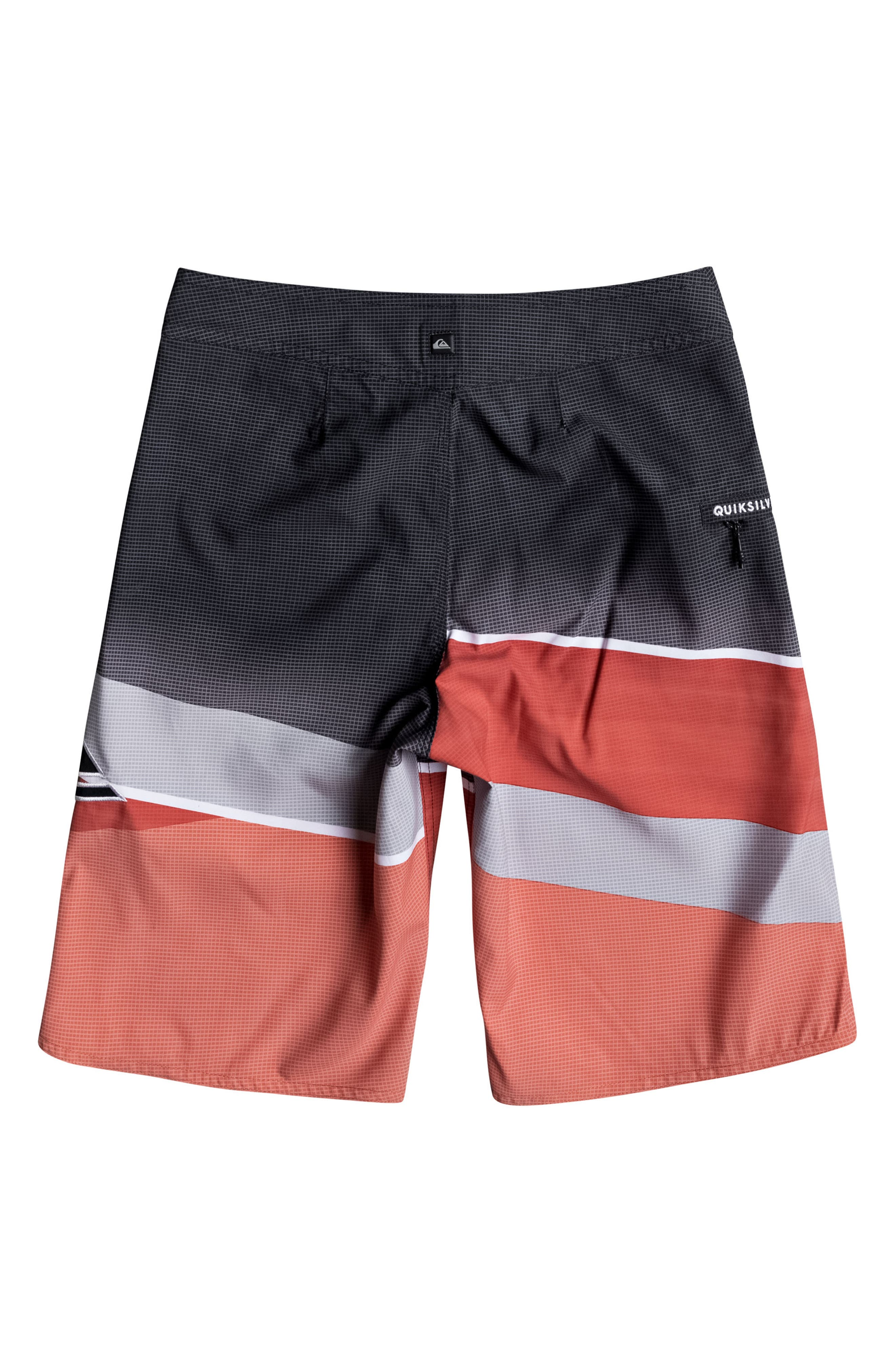 Alternate Image 2  - Quiksilver Slash Logo Board Shorts (Big Boys)
