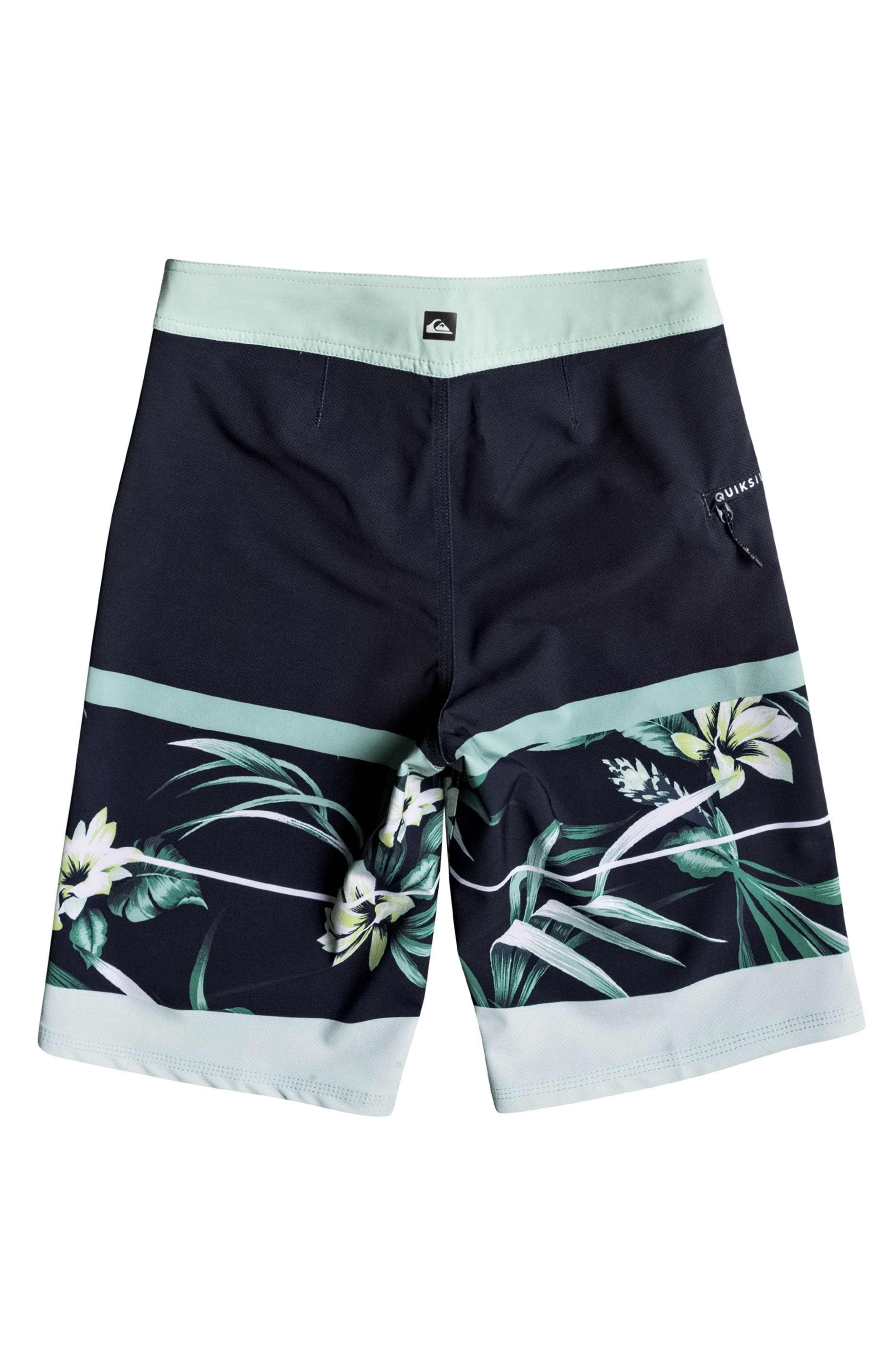 Slab Island Vee Board Shorts,                             Alternate thumbnail 2, color,                             Navy Blazer