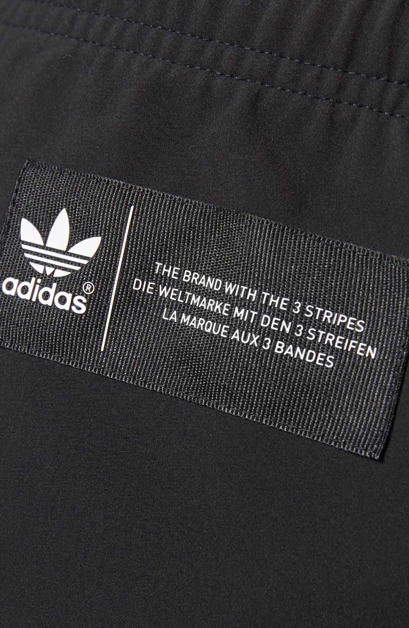 Originals CR8 Hybrid Pants,                             Alternate thumbnail 4, color,                             Black