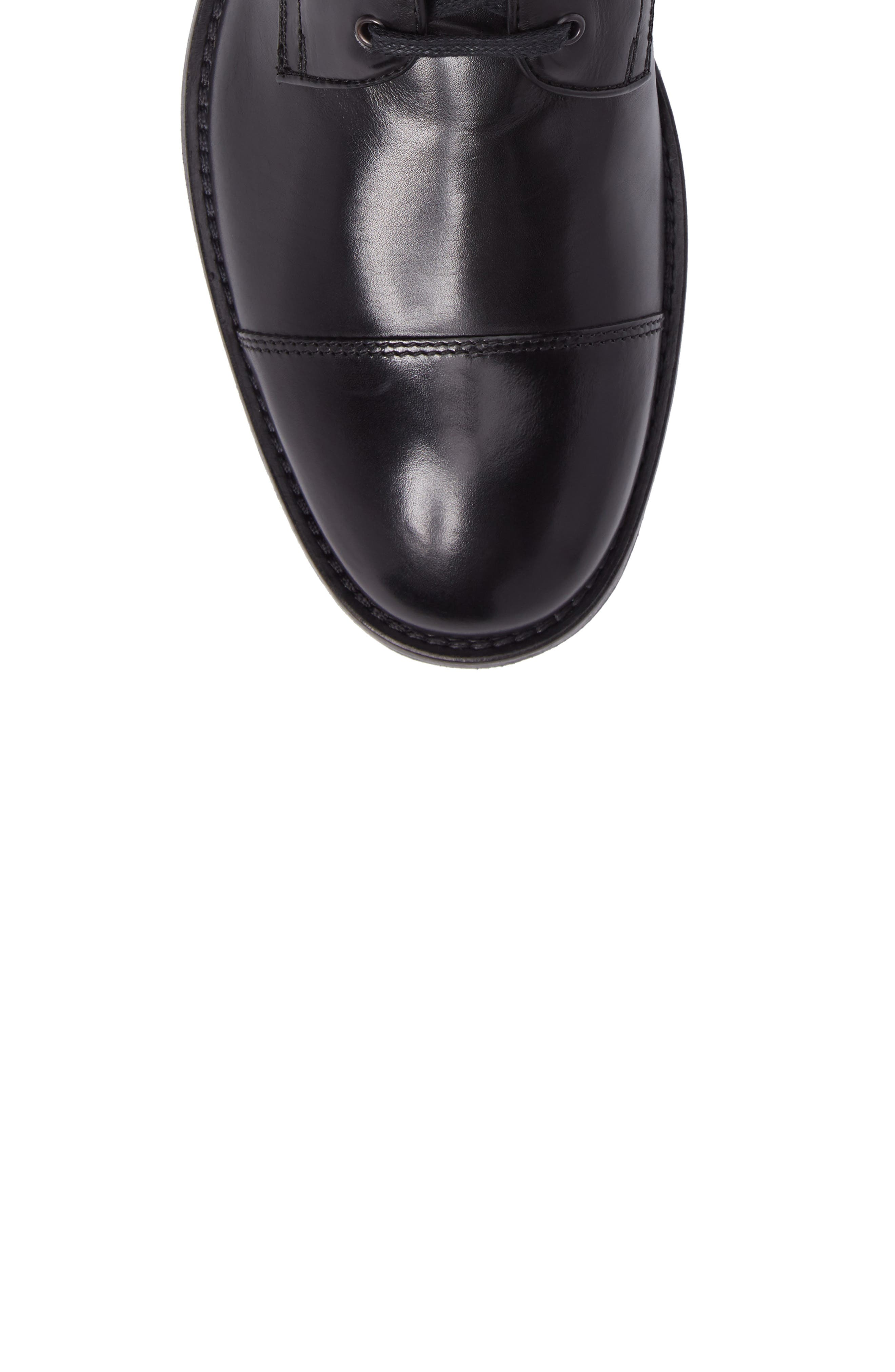 Bondfield Cap Toe Boot,                             Alternate thumbnail 5, color,                             Black