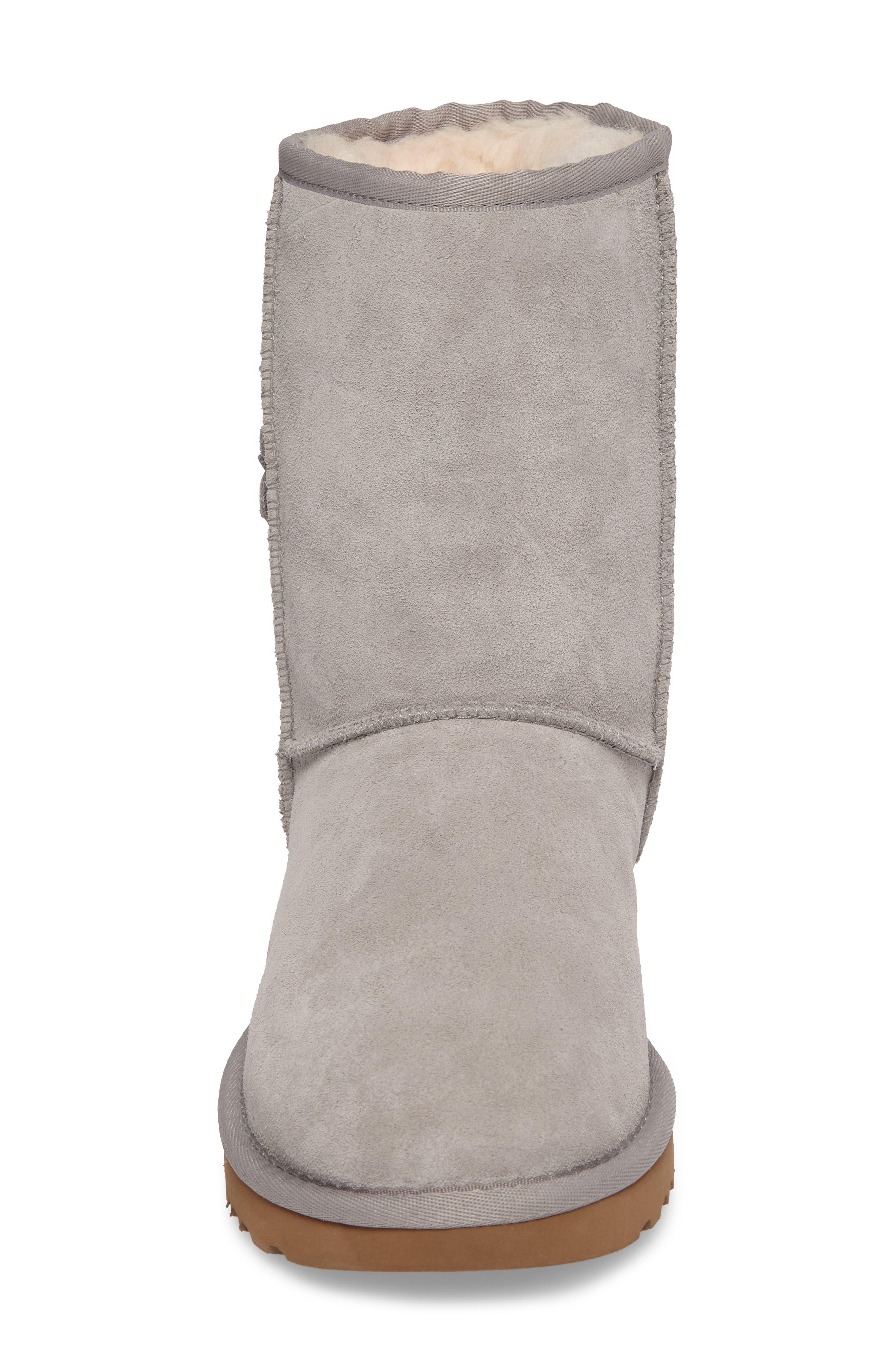 Alternate Image 4  - UGG® Classic Short Petal Boot (Women)