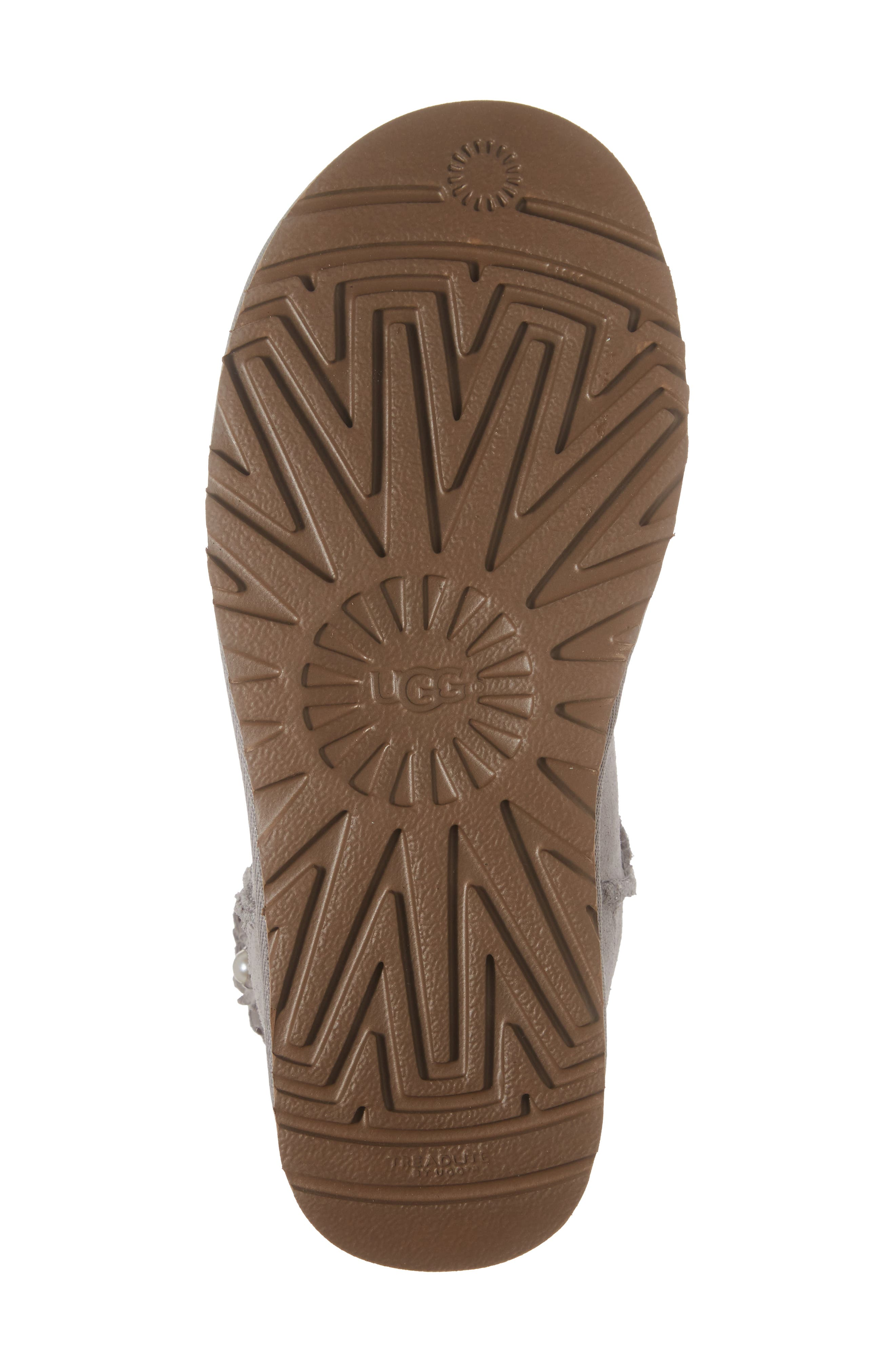 Alternate Image 6  - UGG® Classic Short Petal Boot (Women)