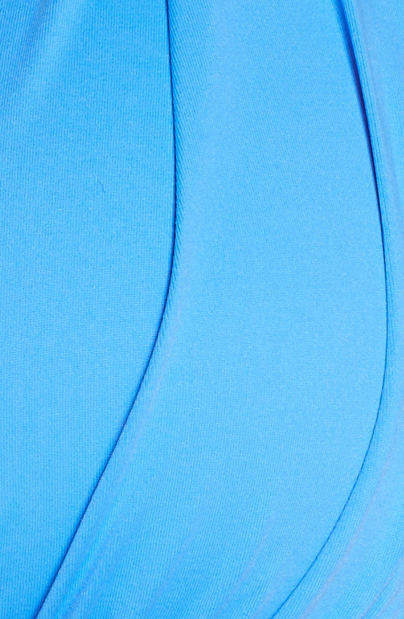 Island Blanca Halter Bikini Top,                             Alternate thumbnail 10, color,                             Blue Suede