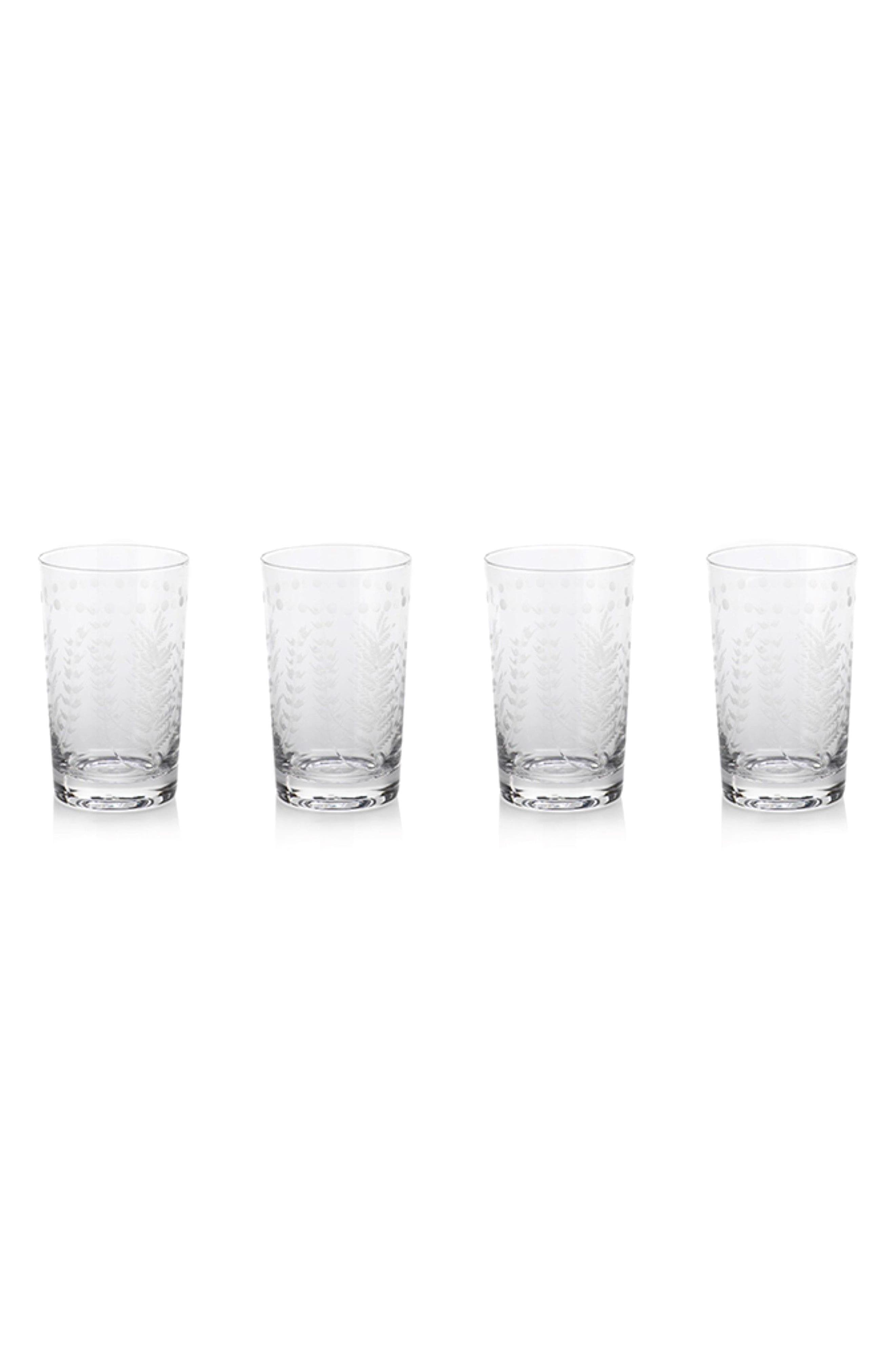 Patia Set of 4 Highball Glasses,                         Main,                         color, Clear