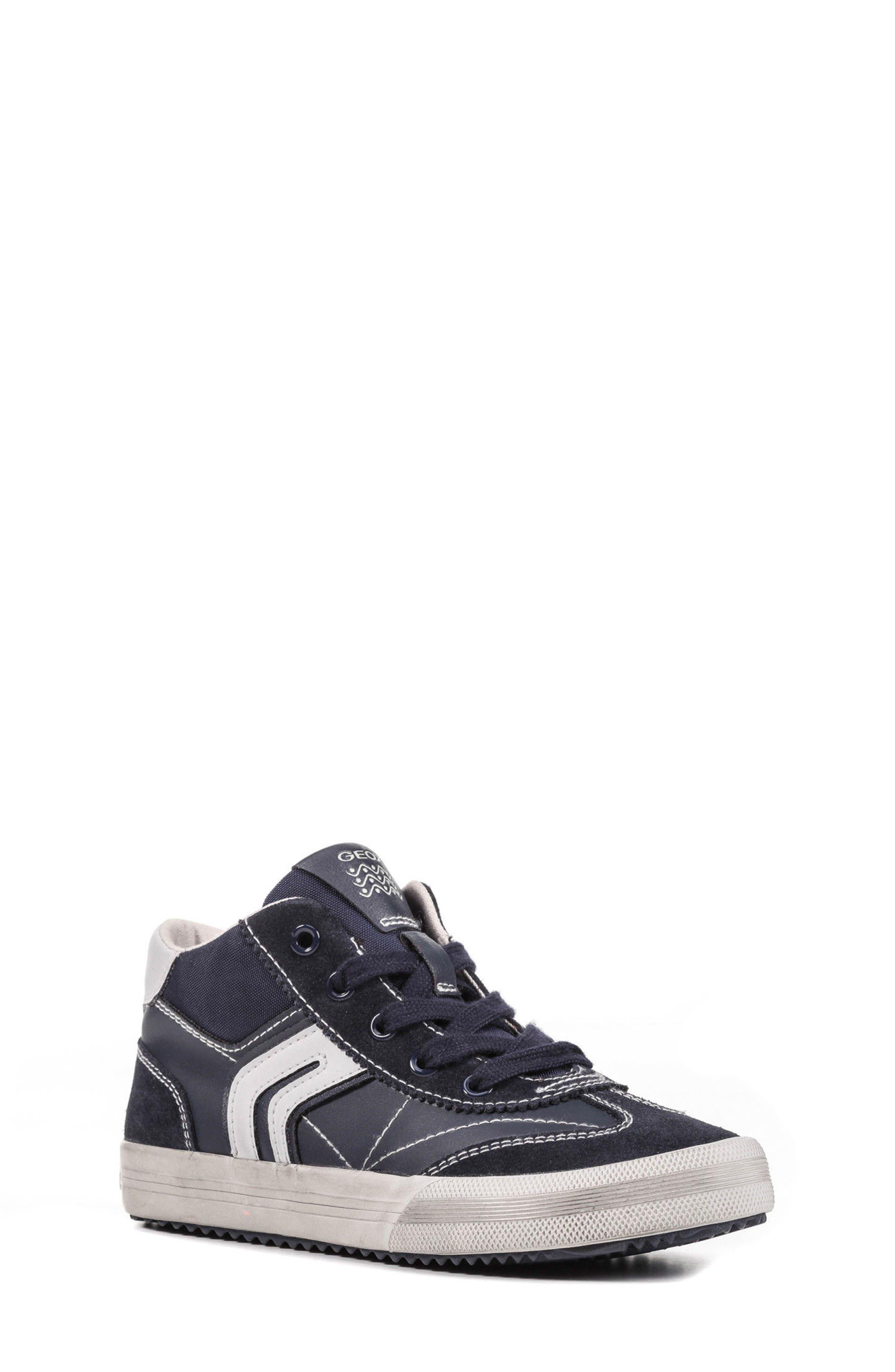 Geox Alonisso Mid Top Sneaker (Toddler, Little Kid & Big Kid)