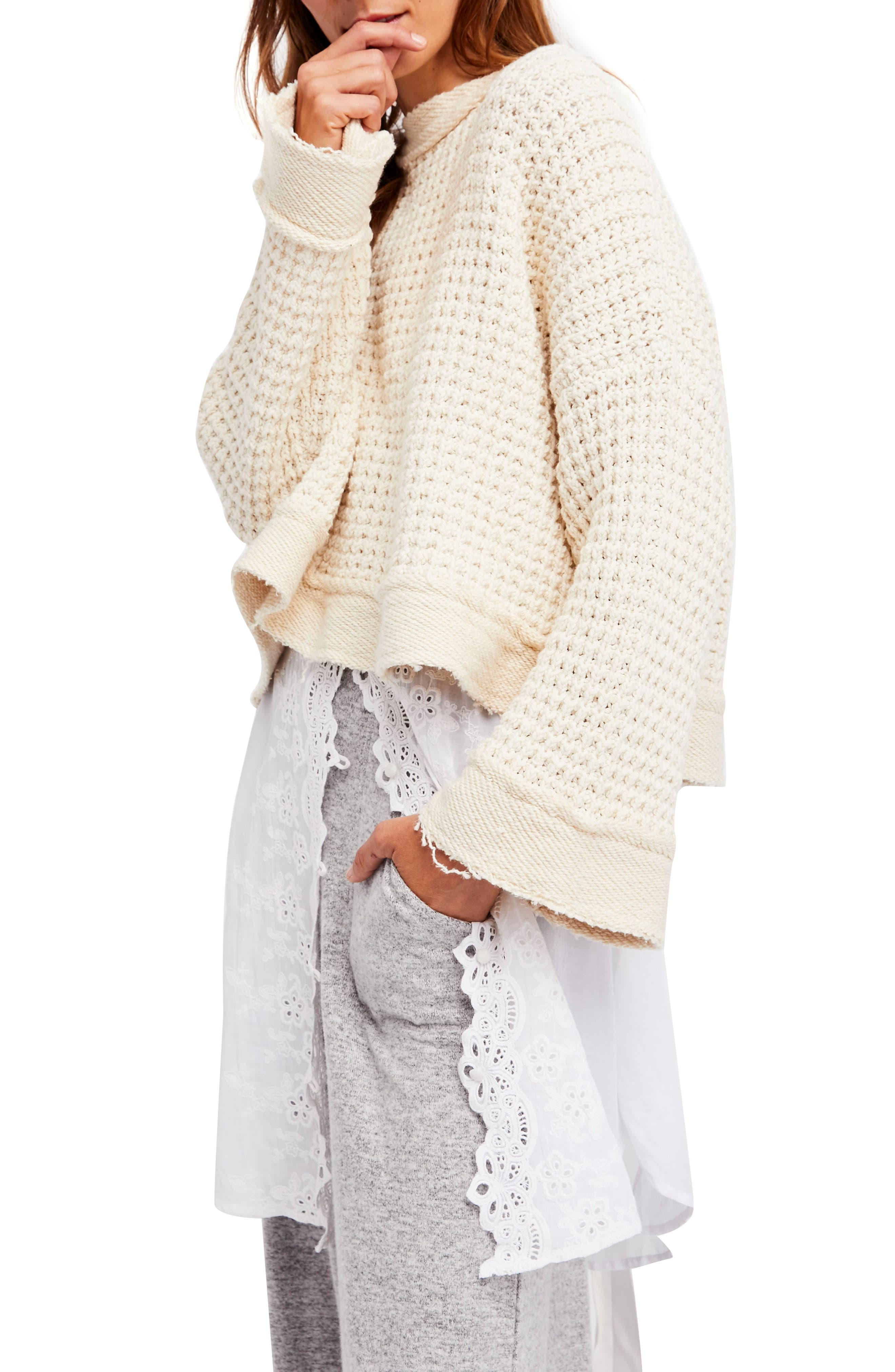 Maybe Baby Bell Sleeve Sweater,                         Main,                         color, Ivory