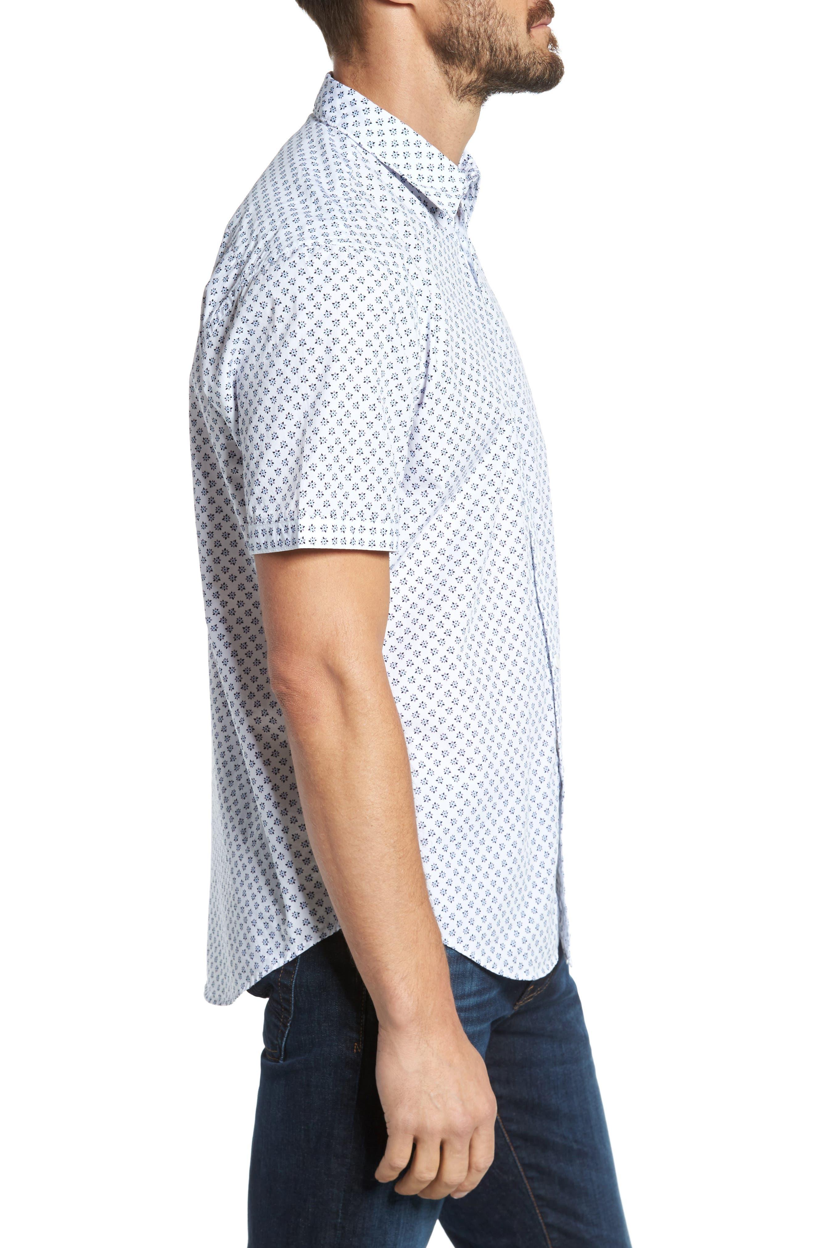 Alternate Image 3  - Coastaoro Santo Regular Fit Print Sport Shirt