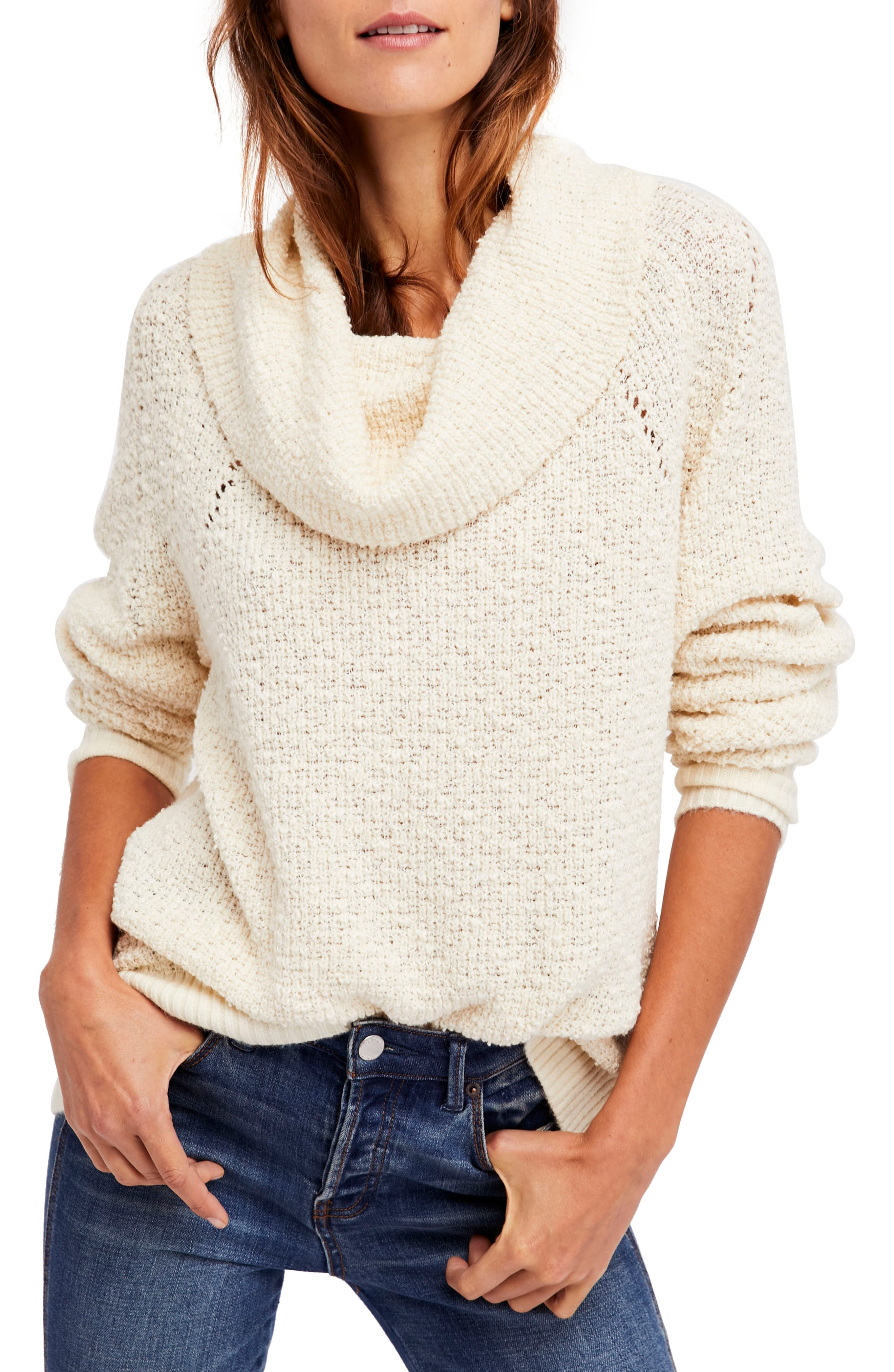 Alternate Image 1 Selected - Free People By Your Side Sweater