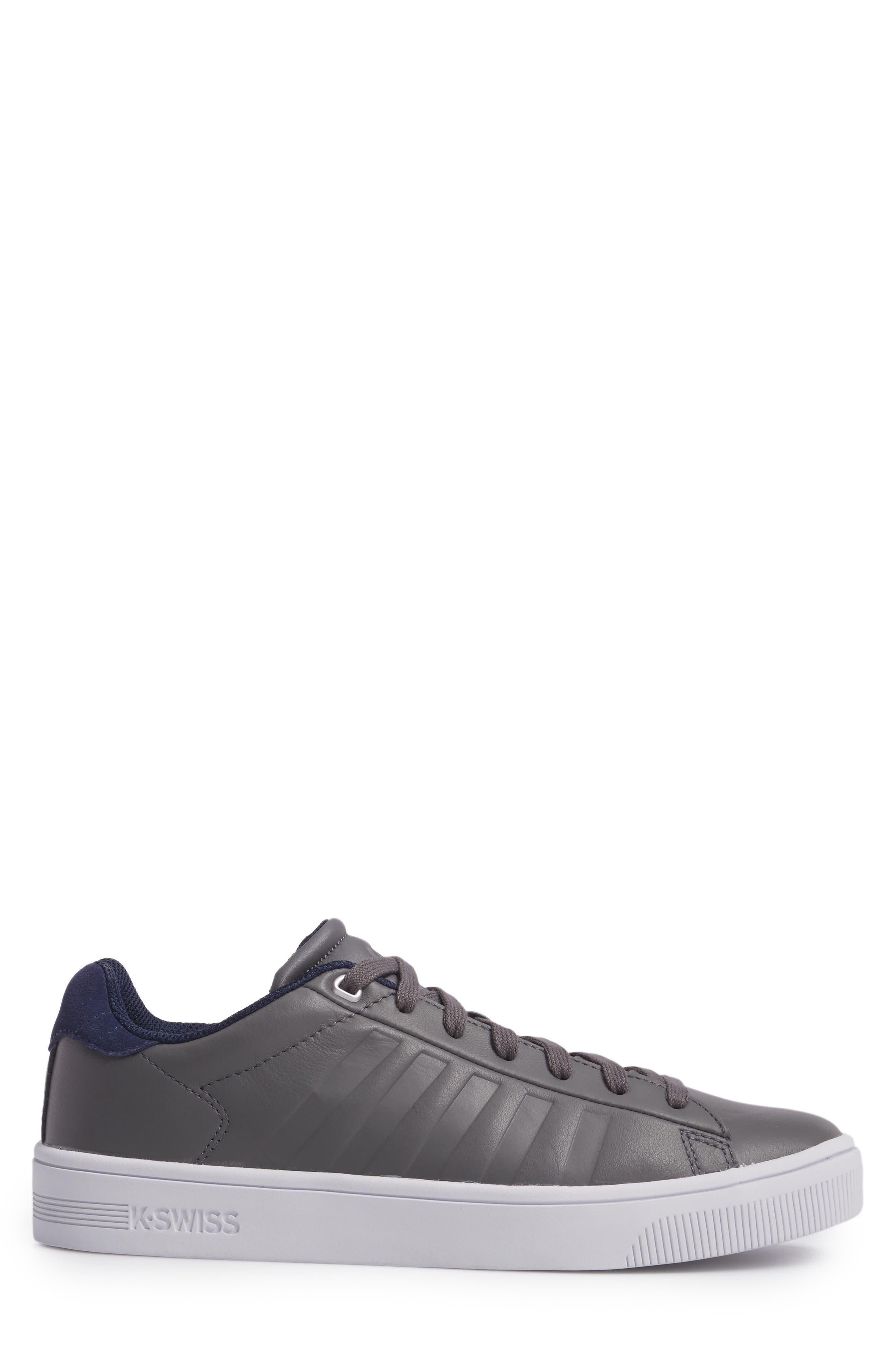 Court Frasco Sneaker,                             Alternate thumbnail 3, color,                             Pewter/ Patriot Blue