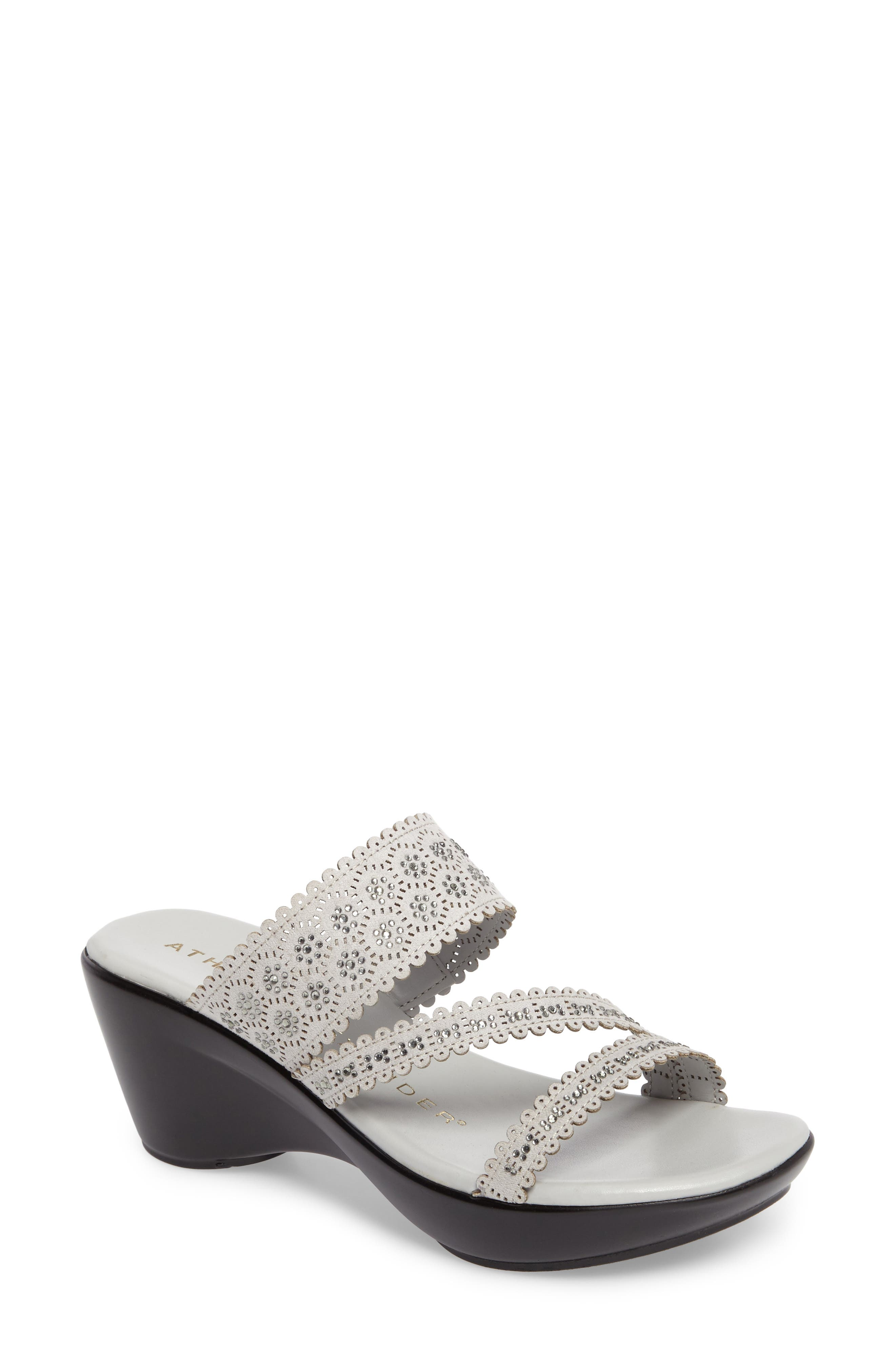 Alternate Image 1 Selected - Athena Alexander Poppy Wedge Sandal (Women)