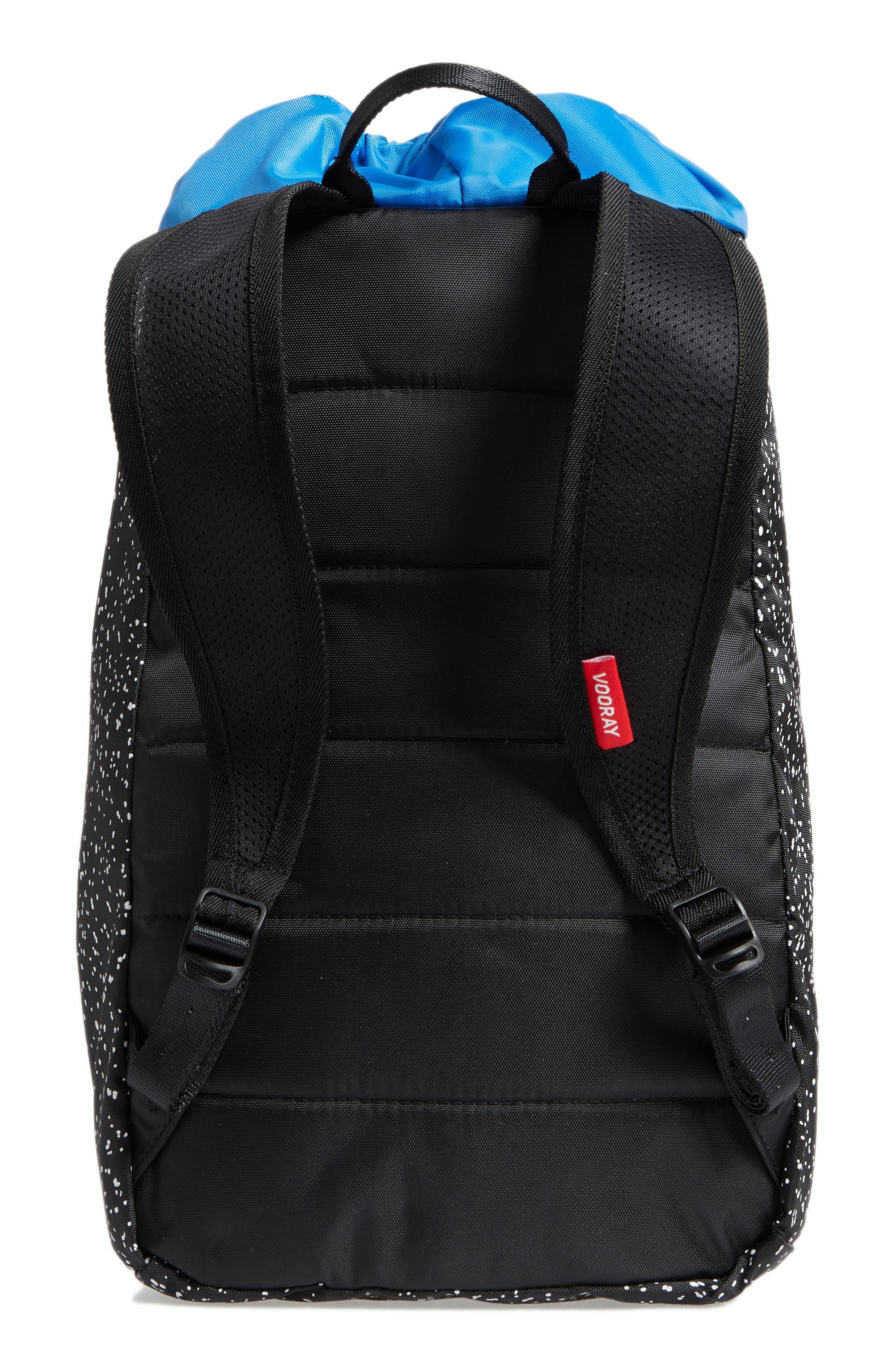 Stride Cinch Top Backpack,                             Alternate thumbnail 2, color,                             Black Speck