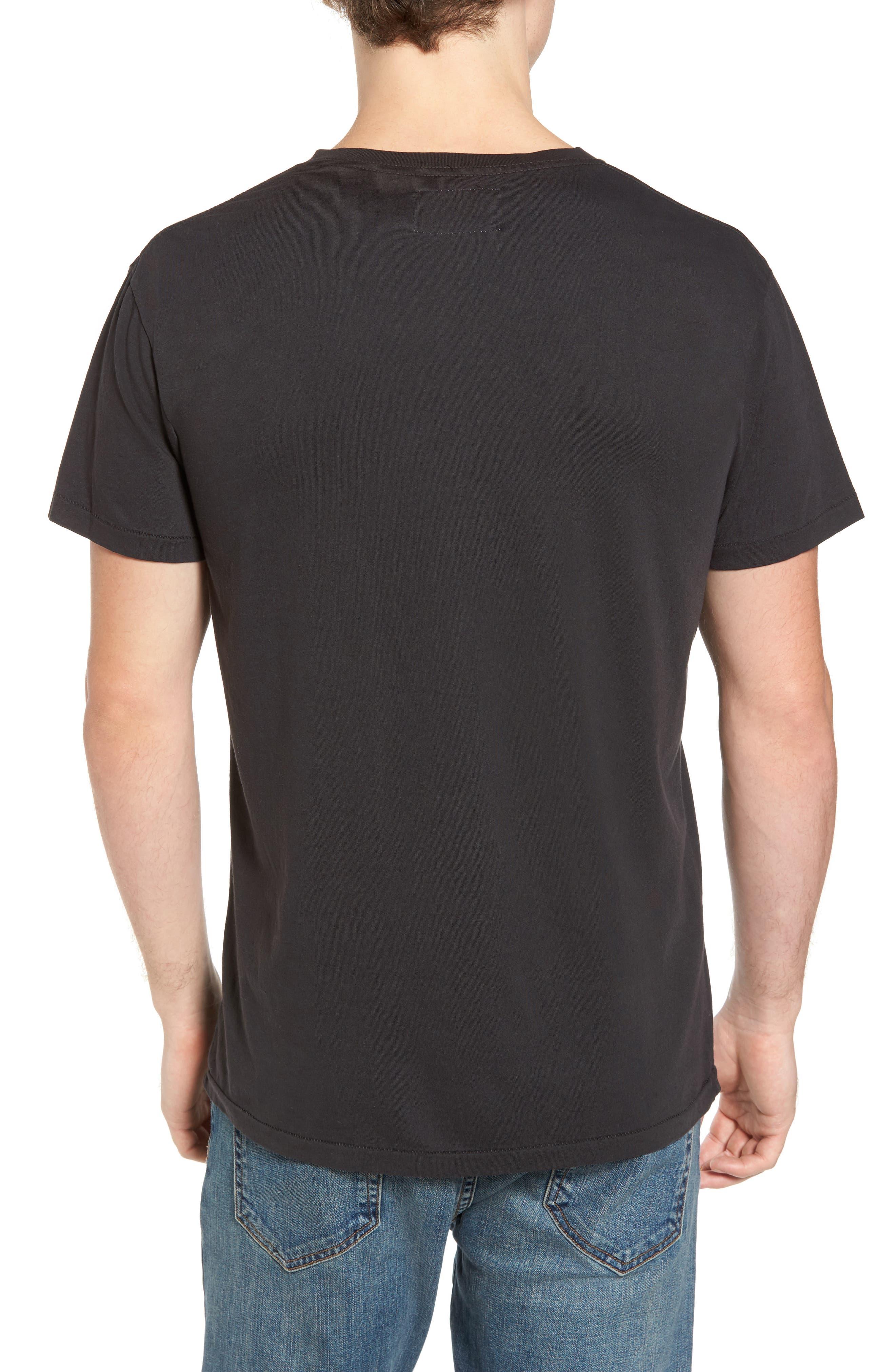 Madrugada Waves T-Shirt,                             Alternate thumbnail 2, color,                             V Black