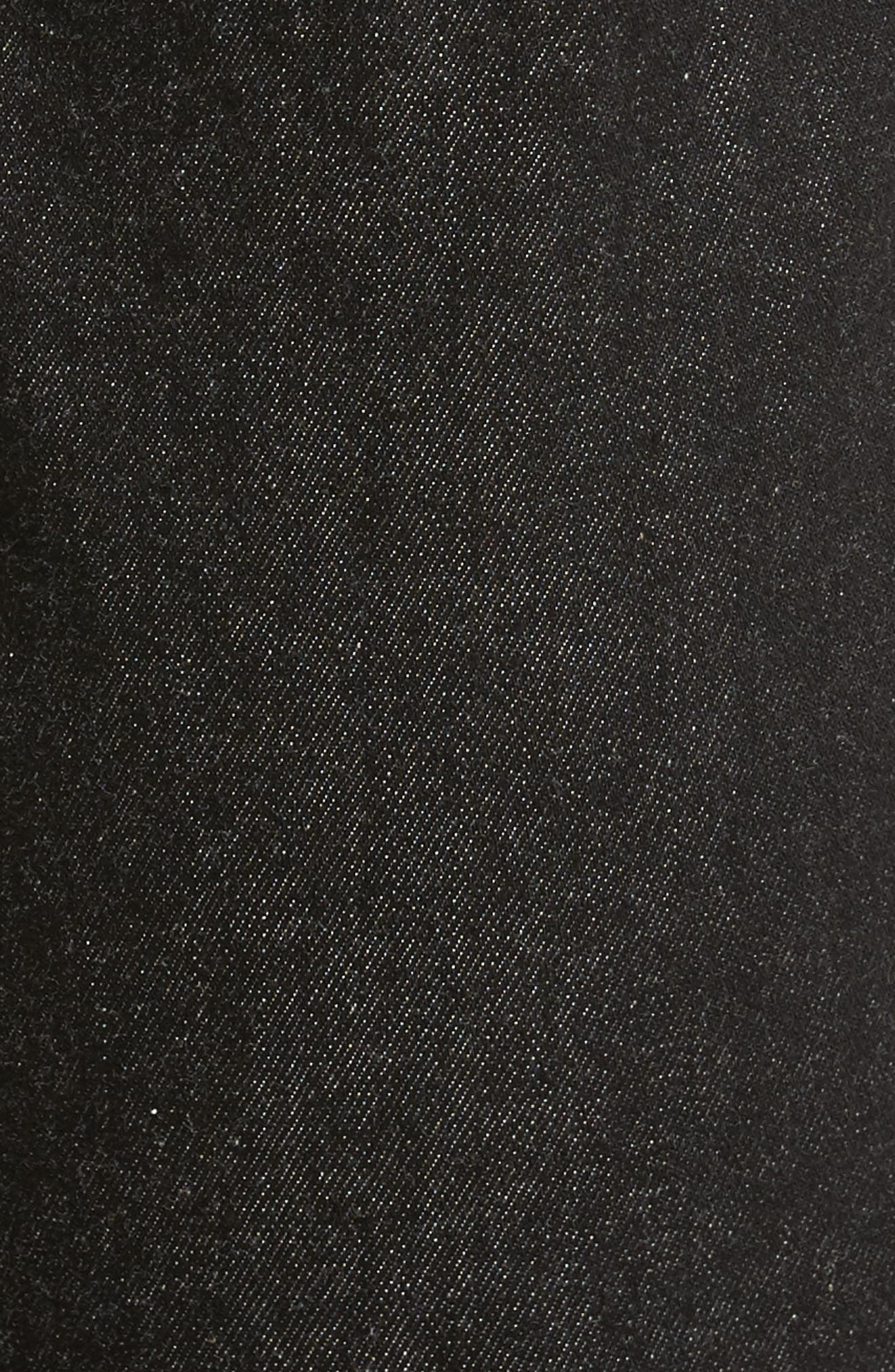 Brushed Stretch Twill Pants,                             Alternate thumbnail 5, color,                             Charcoal Mel