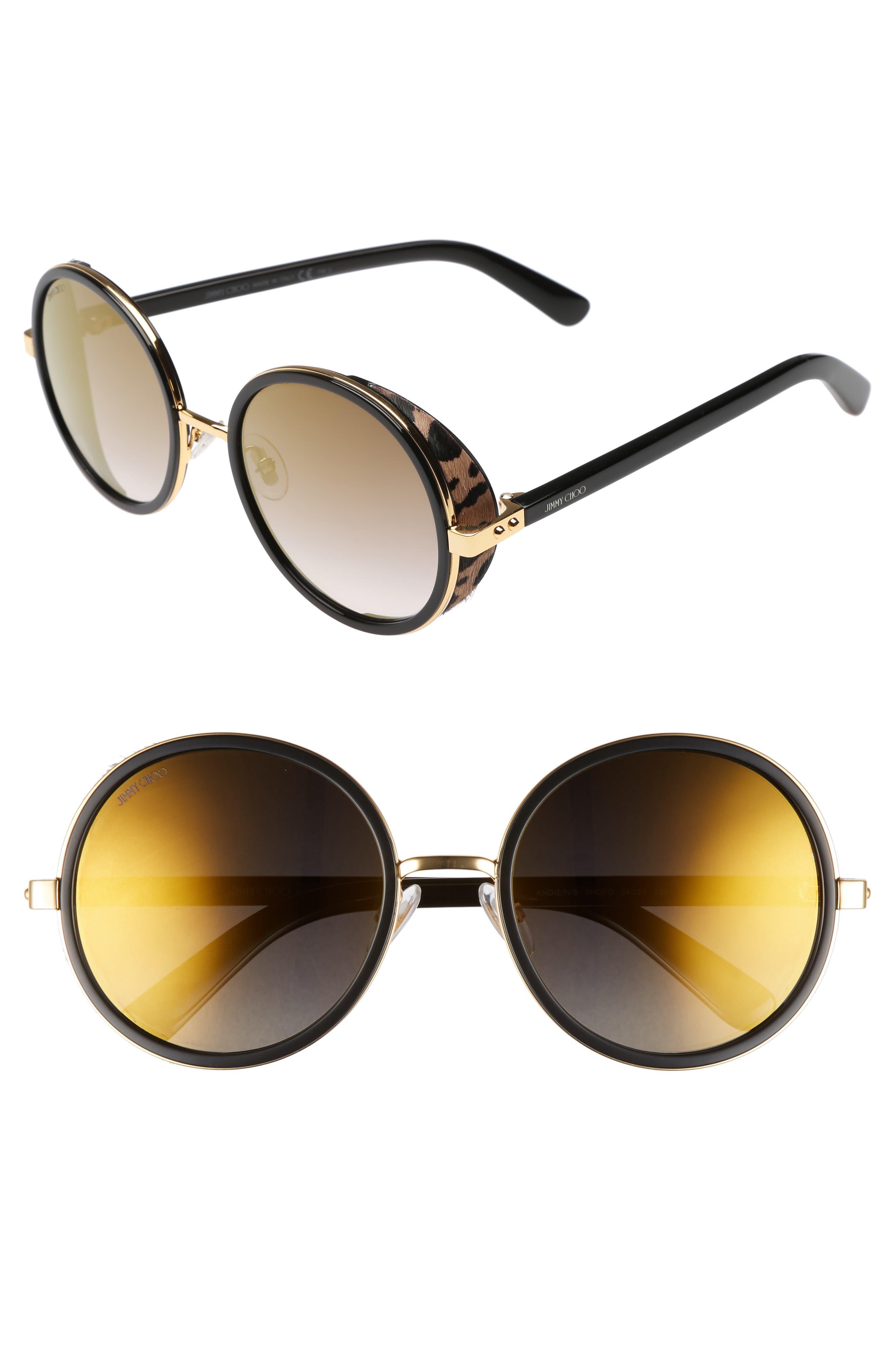 Main Image - Jimmy Choo Andiens 54mm Round Sunglasses
