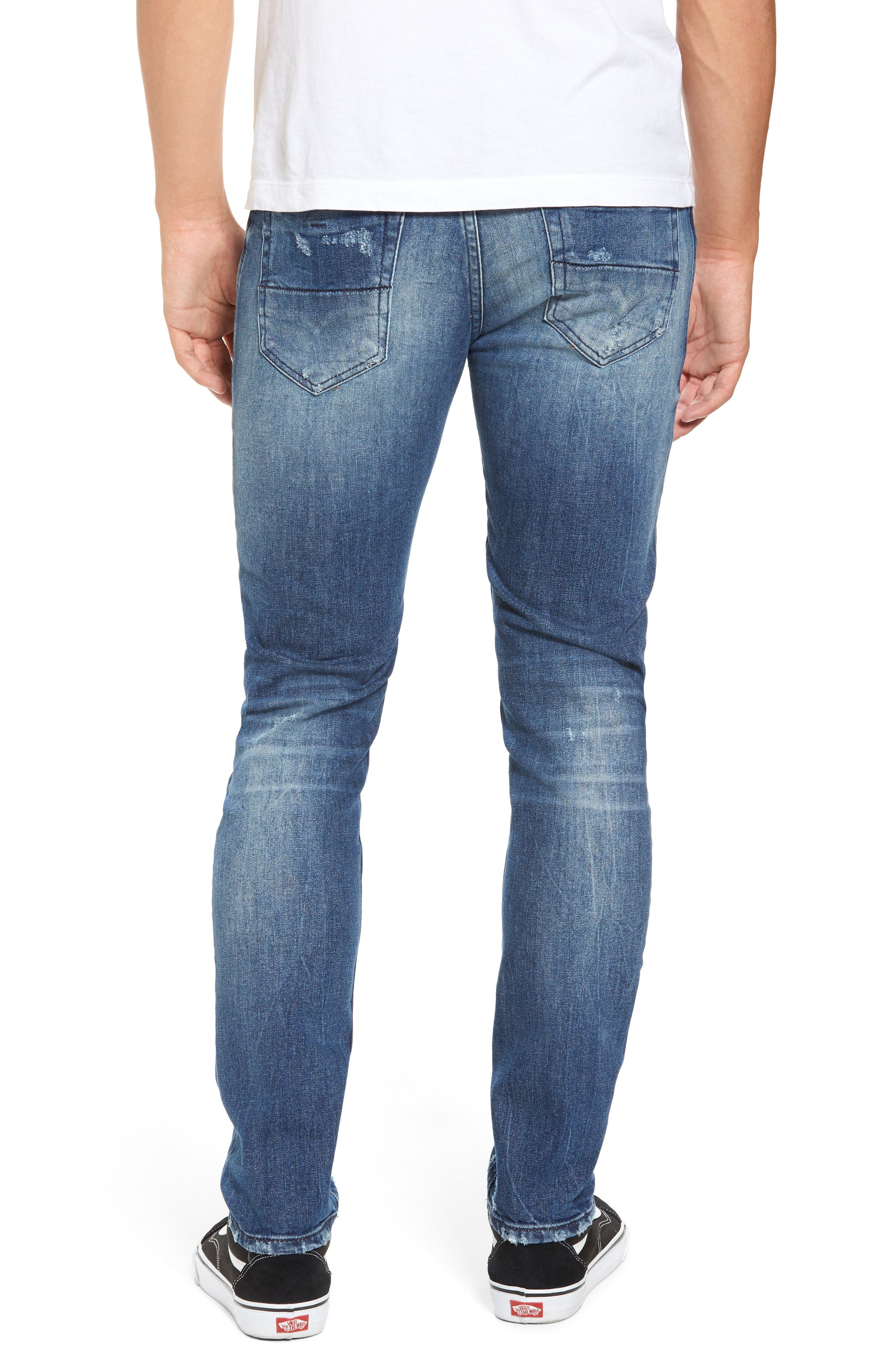 Alternate Image 2  - DIESEL® Thommer Slim Fit Jeans