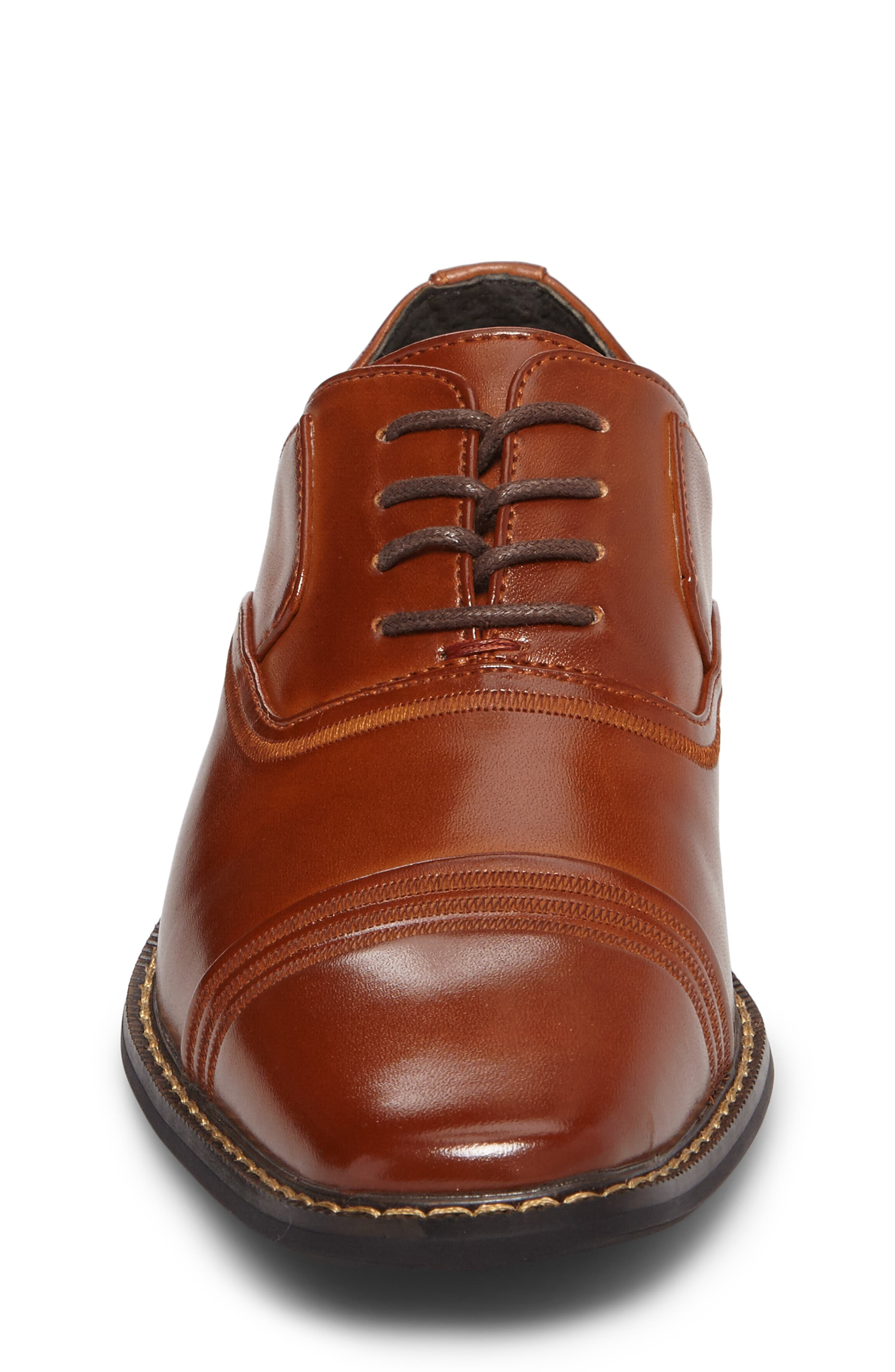 Alternate Image 4  - Stacy Adams Bingham Cap Toe Oxford (Toddler, Little Kid & Big Kid)
