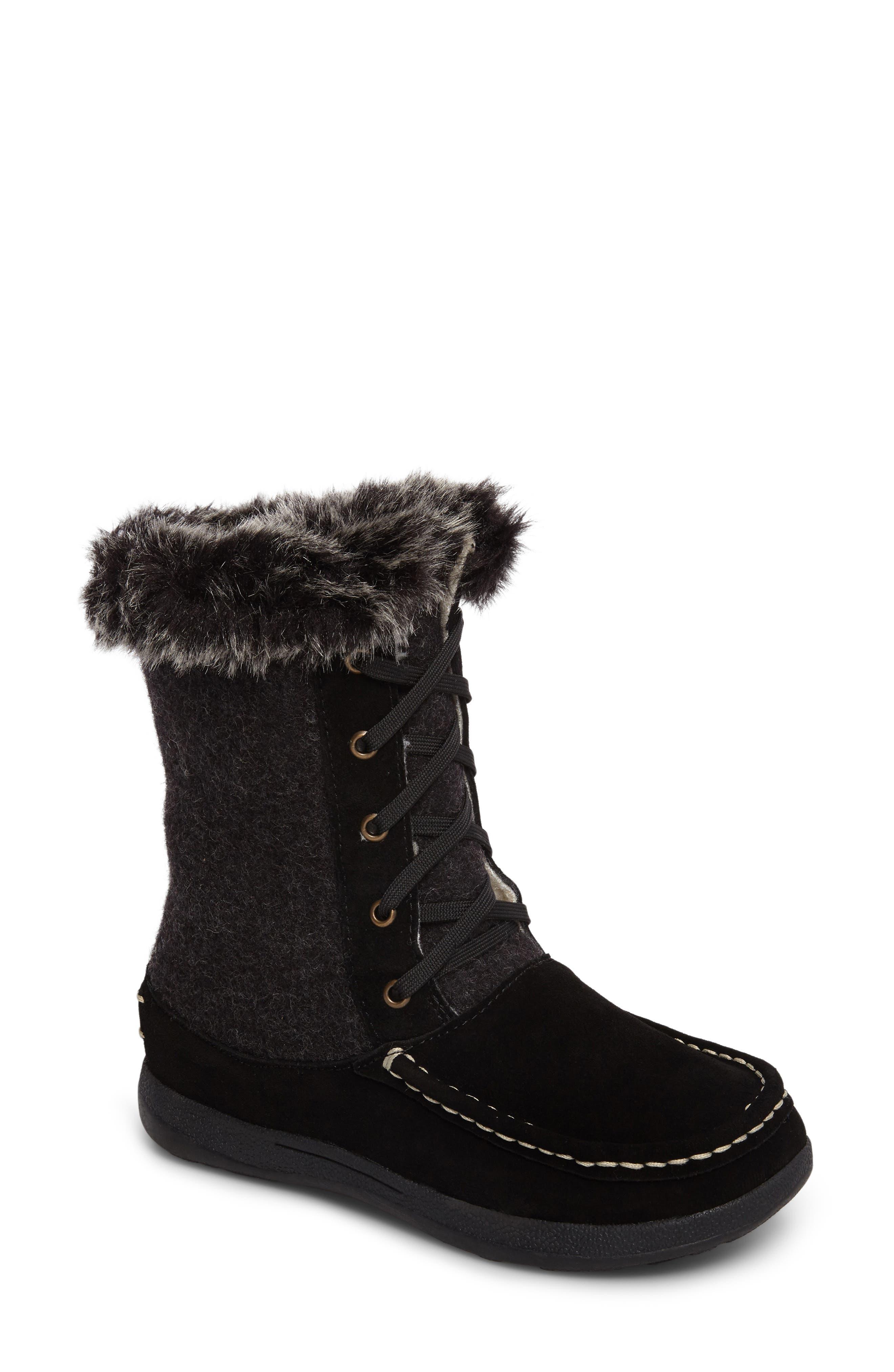 Woolrich Doe Creek II Faux Fur Trim Boot (Women)