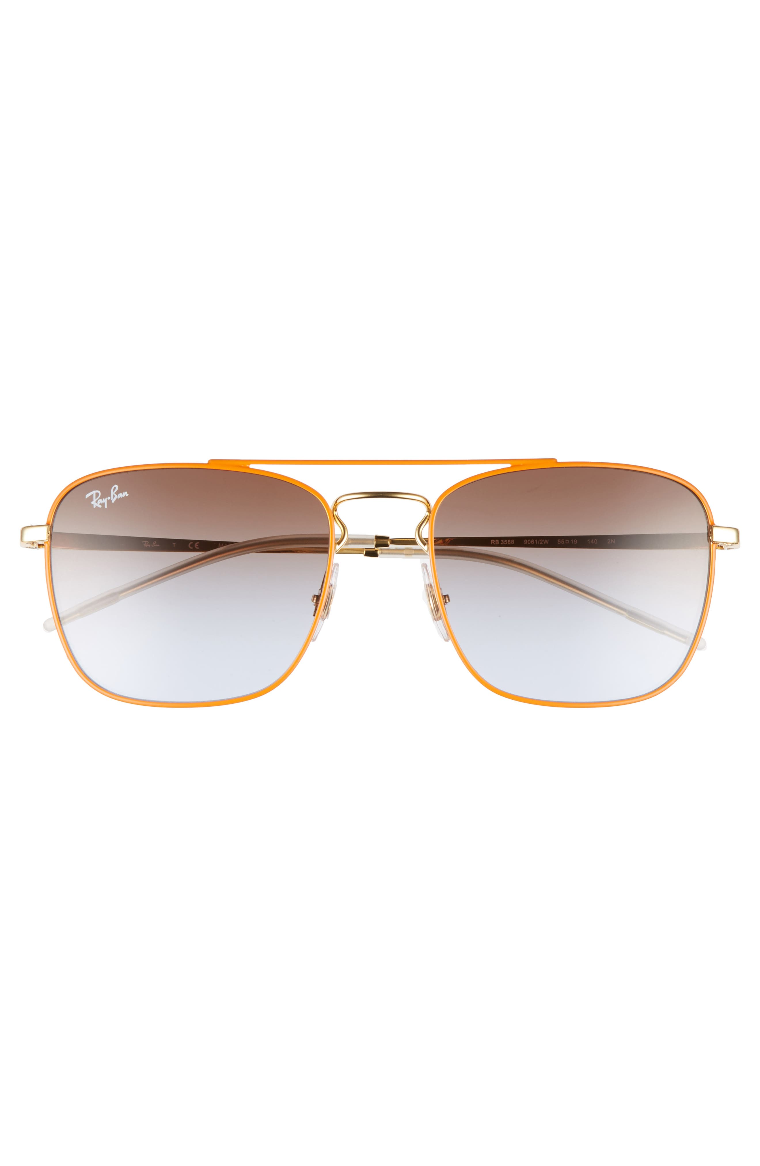 Alternate Image 2  - Ray-Ban Youngster Double Bridge 55mm Sunglasses