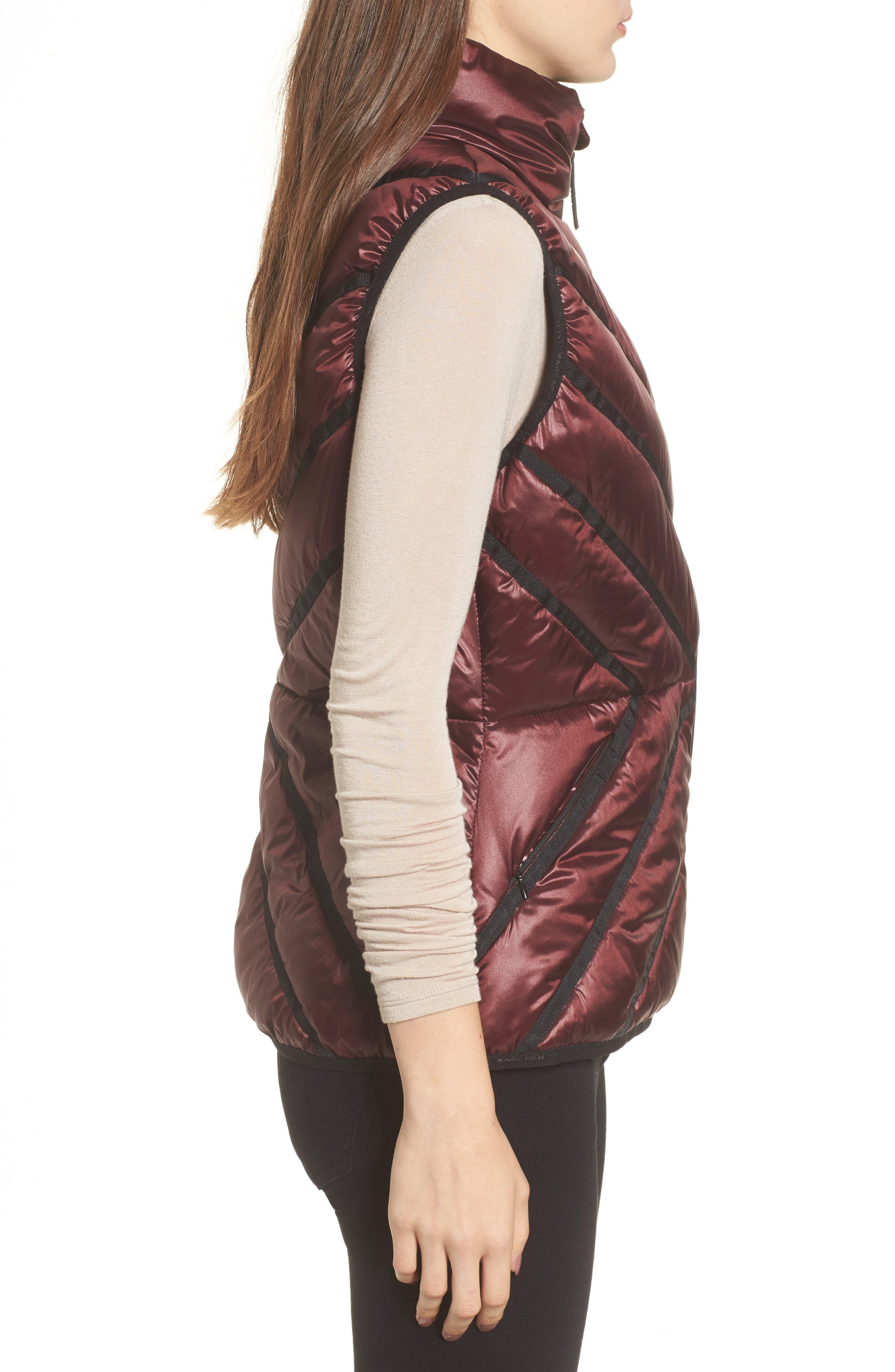 Alternate Image 3  - Marc New York Chevron Quilt Puffer Vest