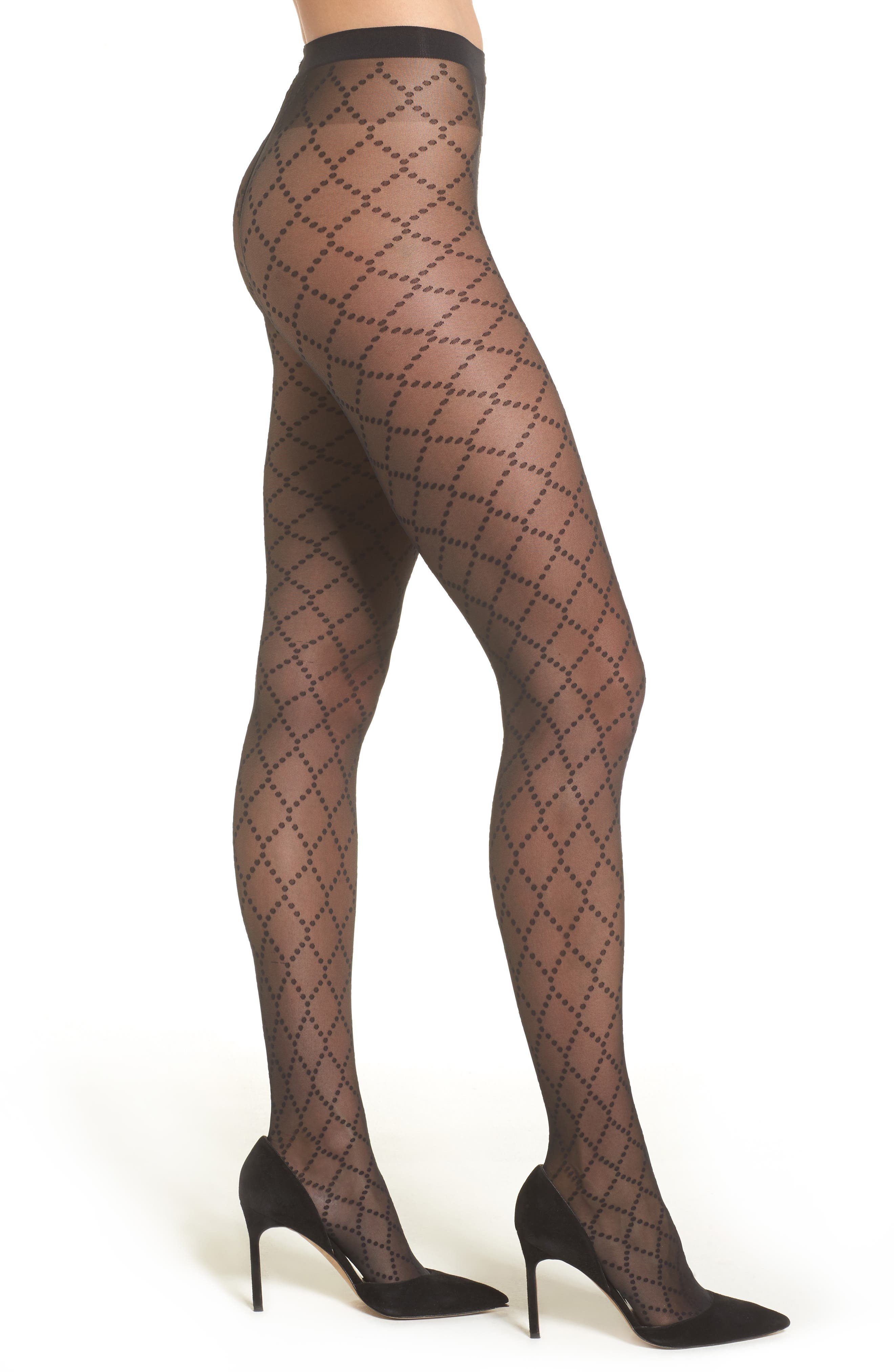 Alternate Image 1 Selected - Wolford Dot Net Tights