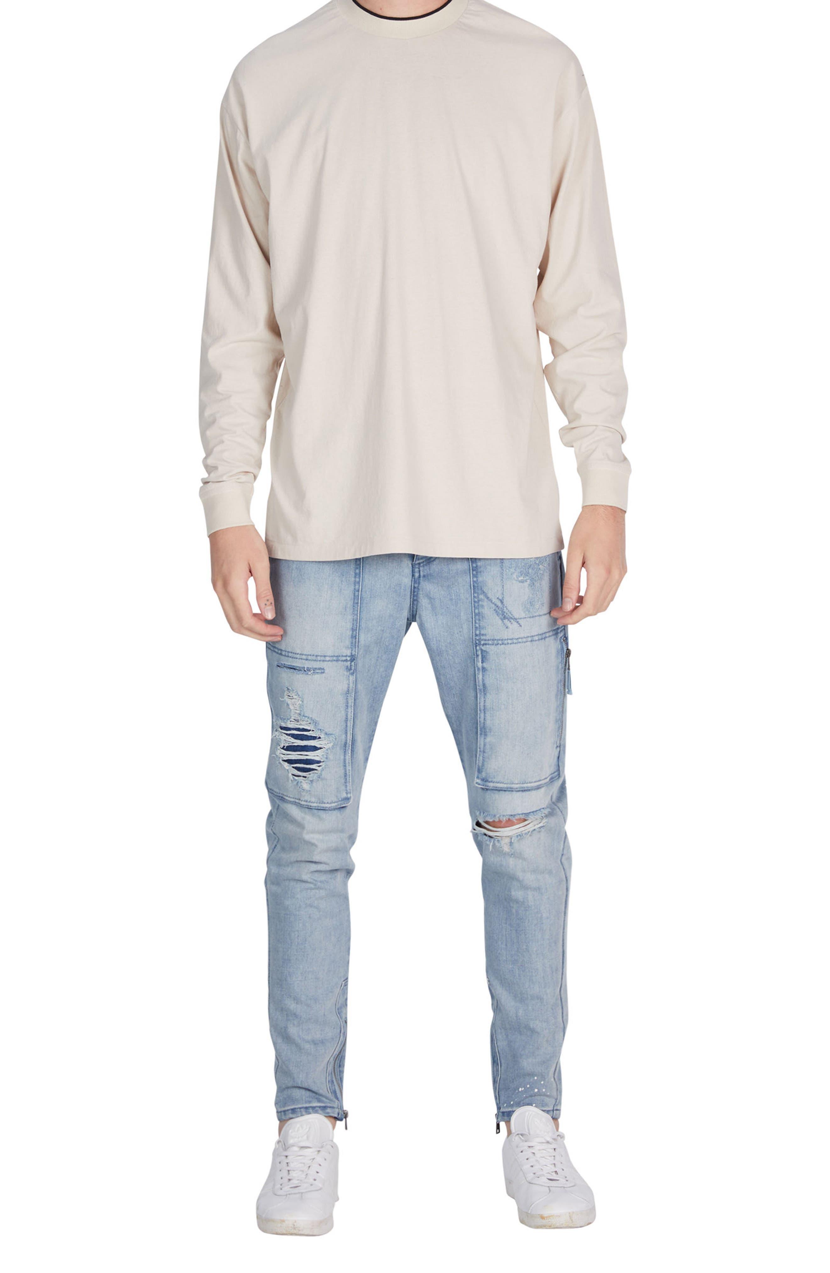 Alternate Image 4  - ZANEROBE Tipped Boxy T-Shirt