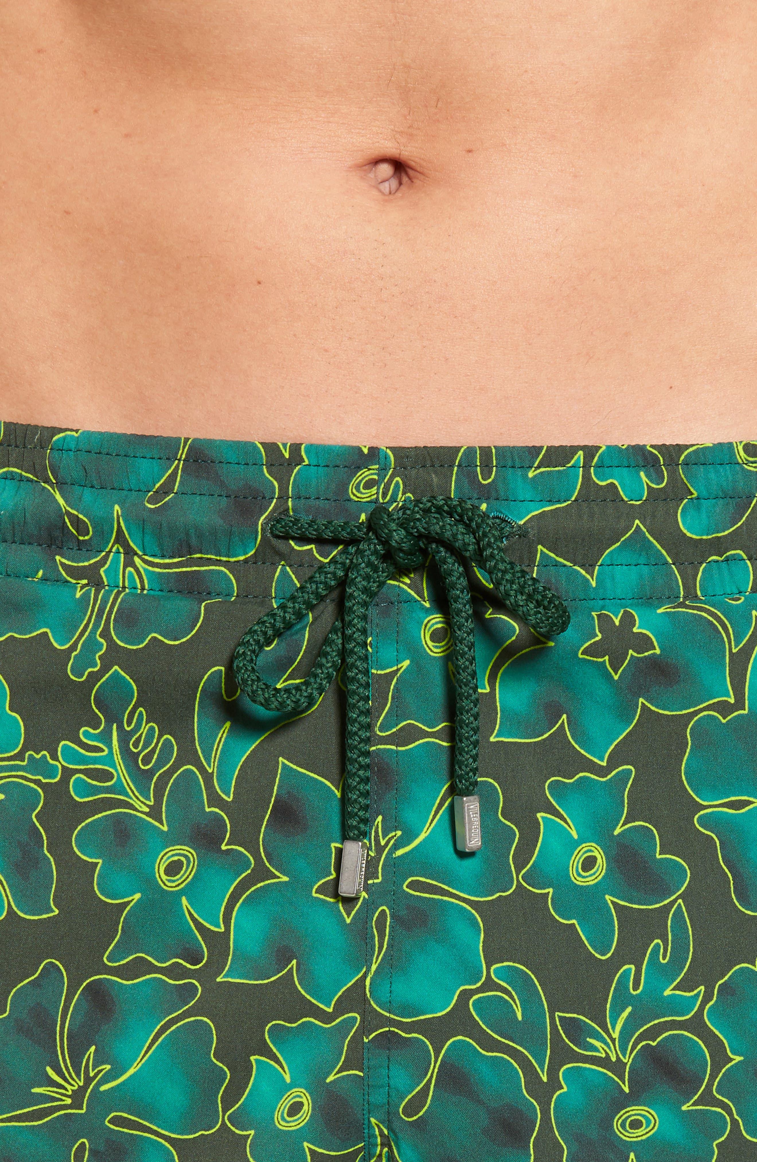 Alternate Image 4  - Vilebrequin Natural Flowers Swim Trunks