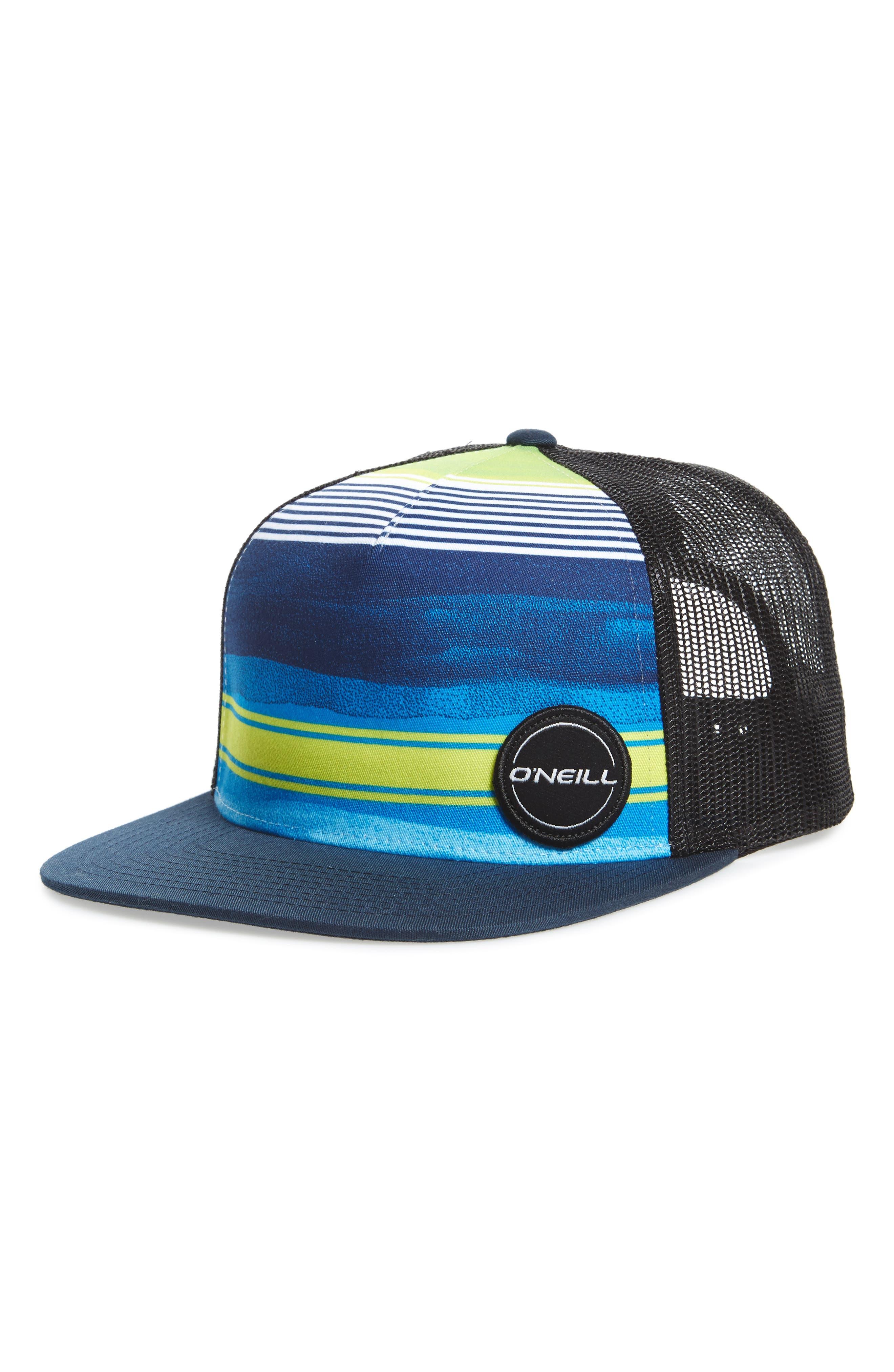 Hyperfreak Mesh Snapback Trucker Cap,                         Main,                         color, Neon Green