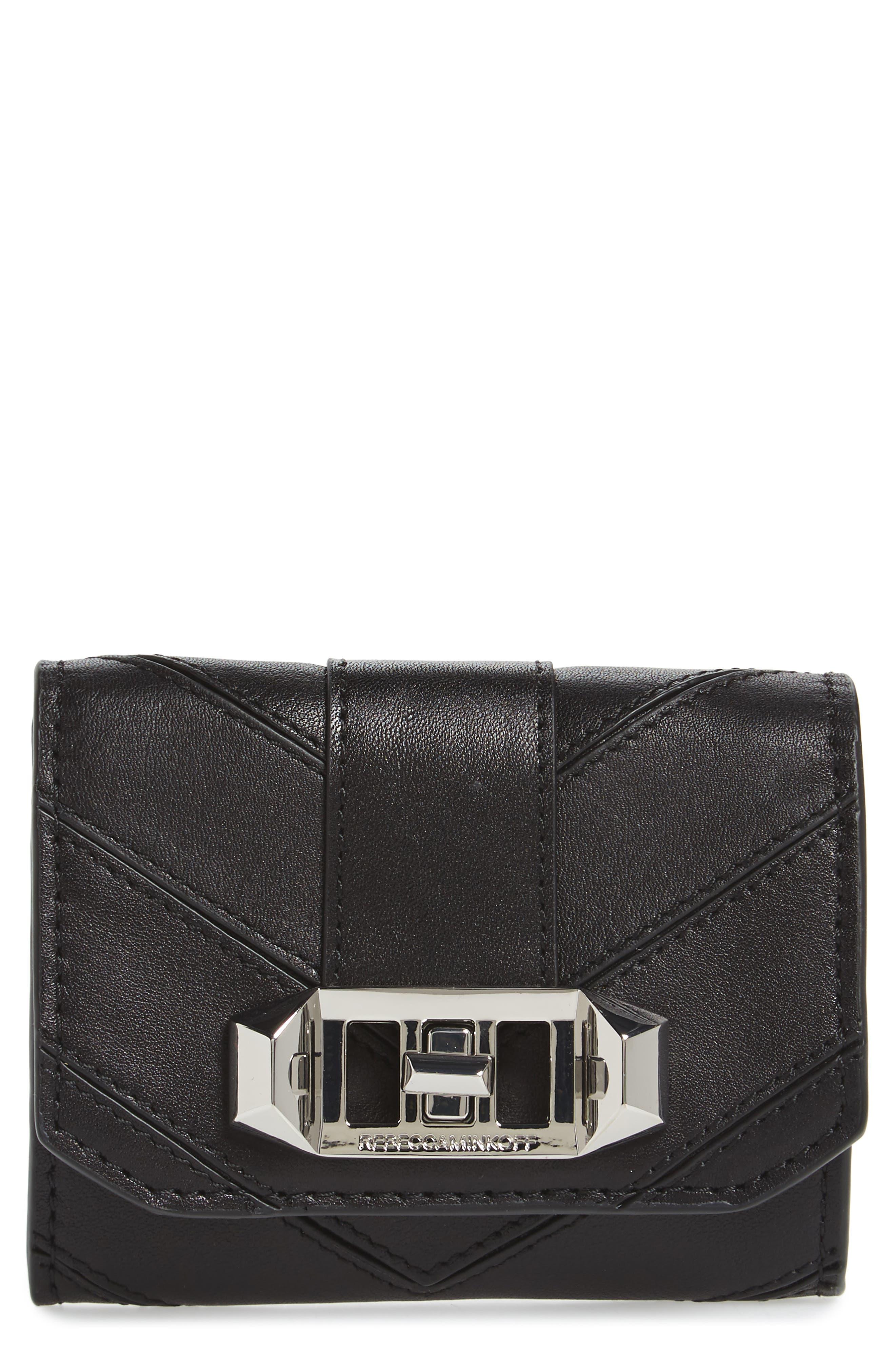 Rebecca Minkoff Love Lock Leather Wallet