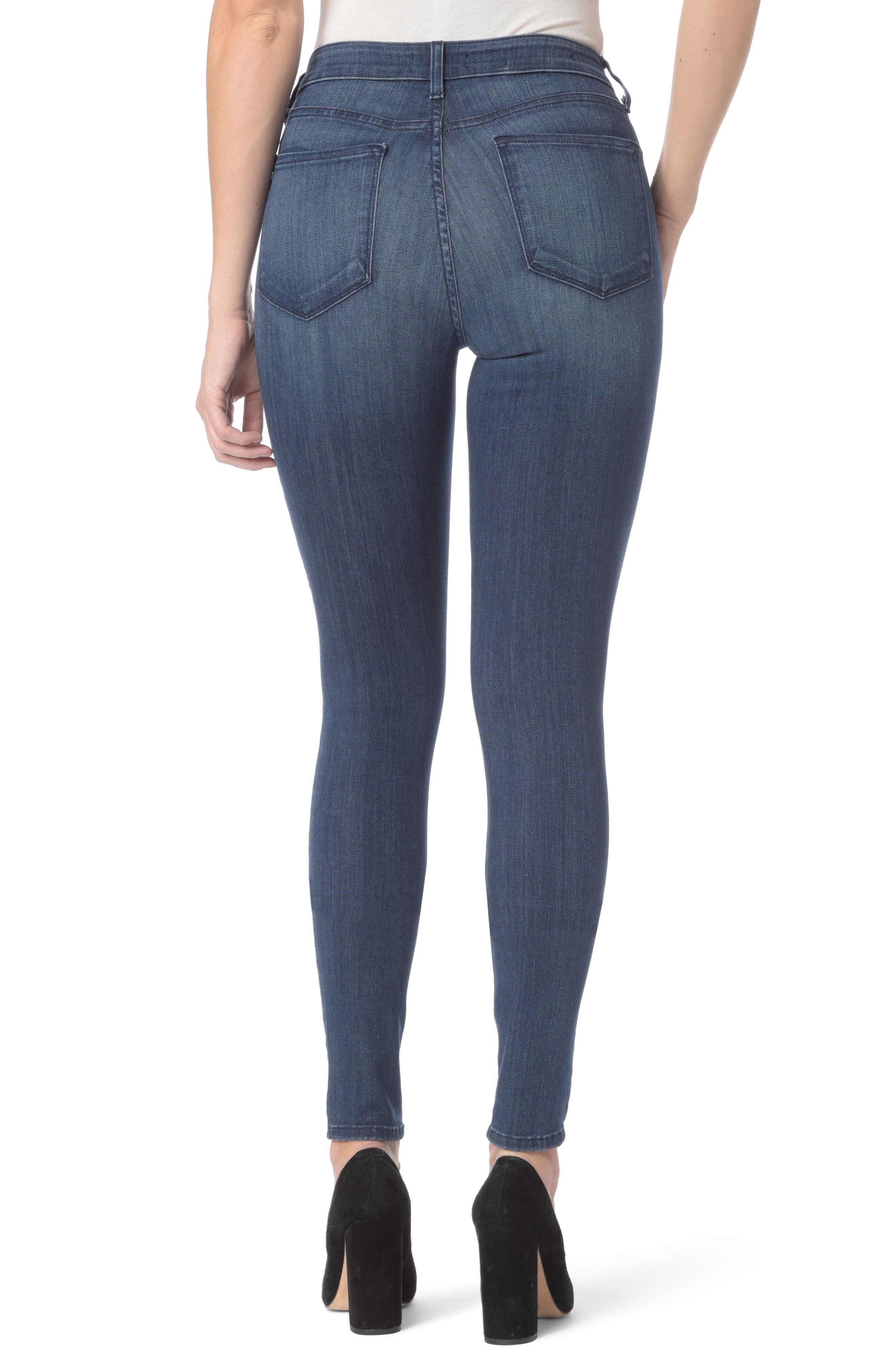 Ami Stretch Super Skinny Jeans,                             Alternate thumbnail 2, color,                             Lark