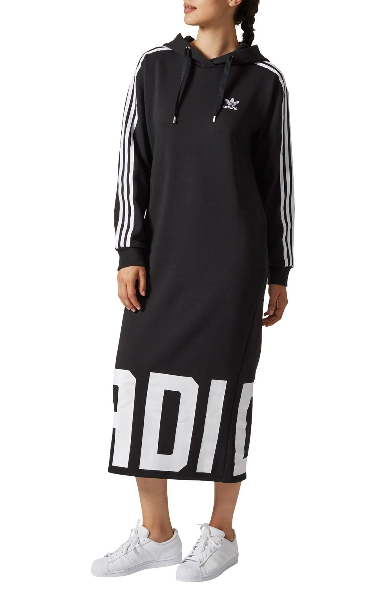 adidas Bold Ages Hooded Dress