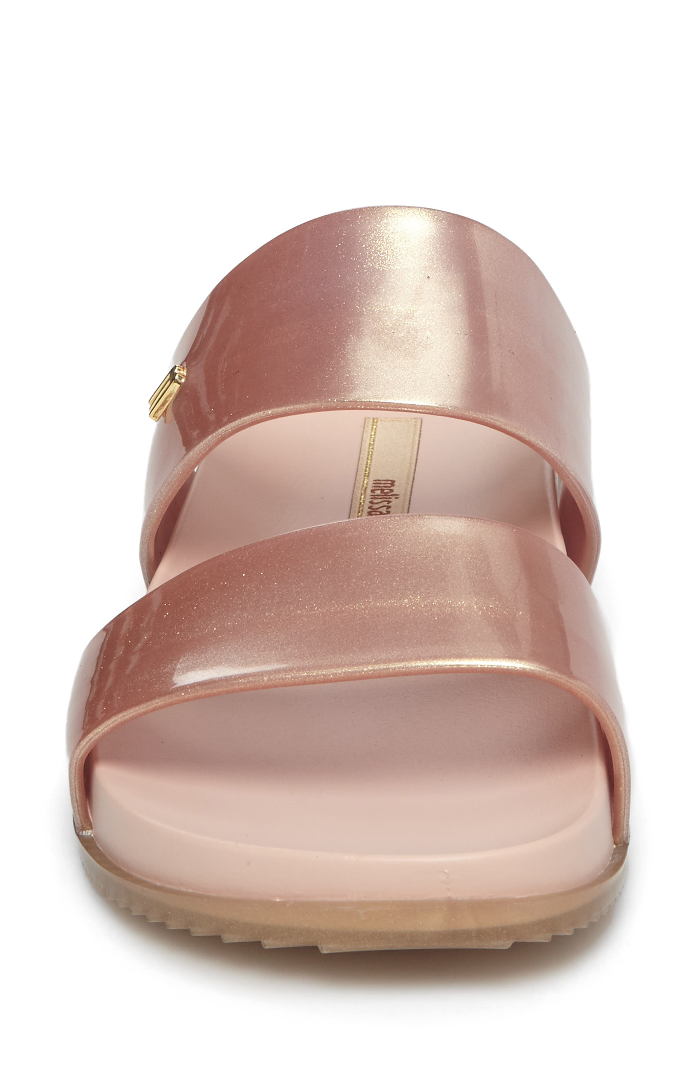 'Cosmic' Sandal,                             Alternate thumbnail 4, color,                             Metallic Pink