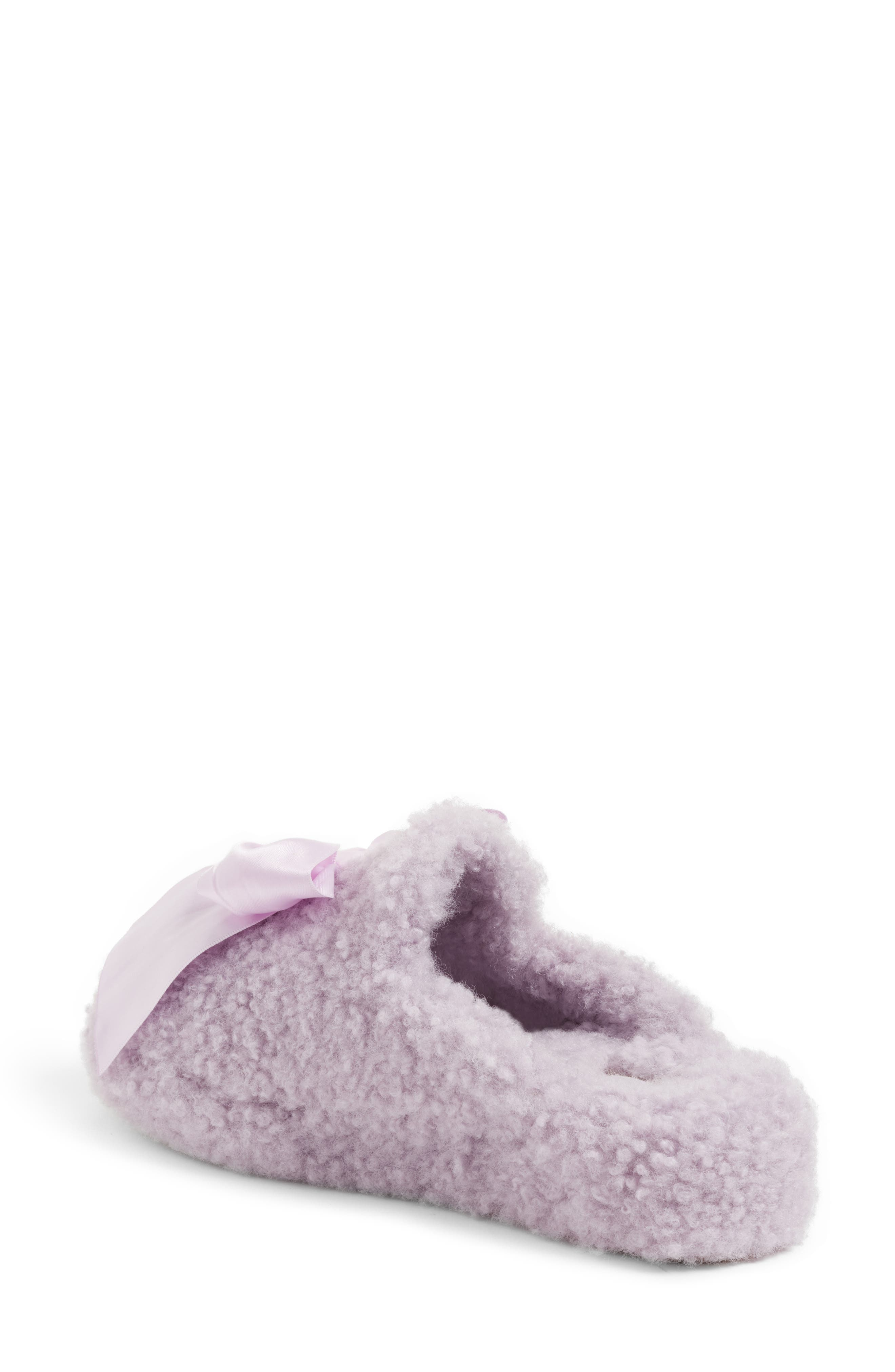 Addison Bow Slipper,                             Alternate thumbnail 2, color,                             Lavender Fog