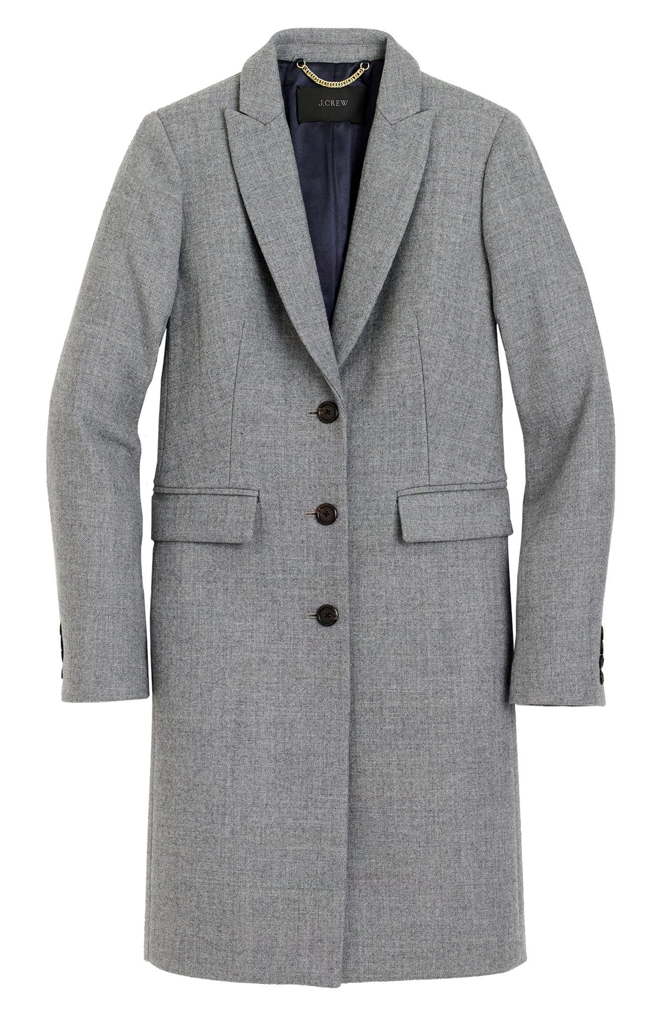 Alternate Image 5  - J.Crew Eniko Wool Topcoat