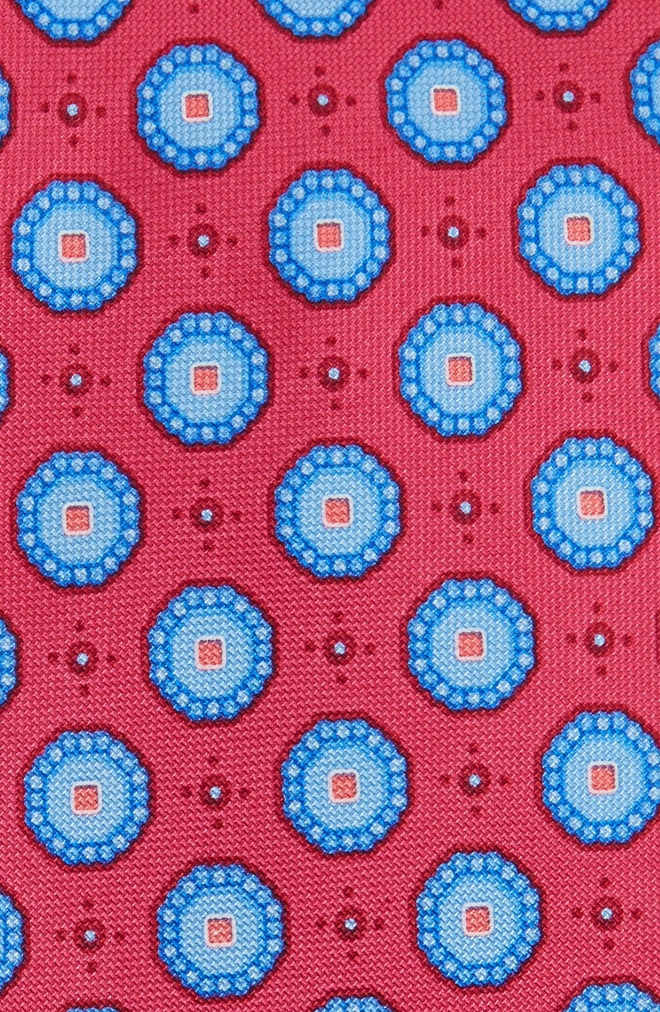Alternate Image 2  - Nordstrom Men's Shop Textured Pines Geometric Silk Tie