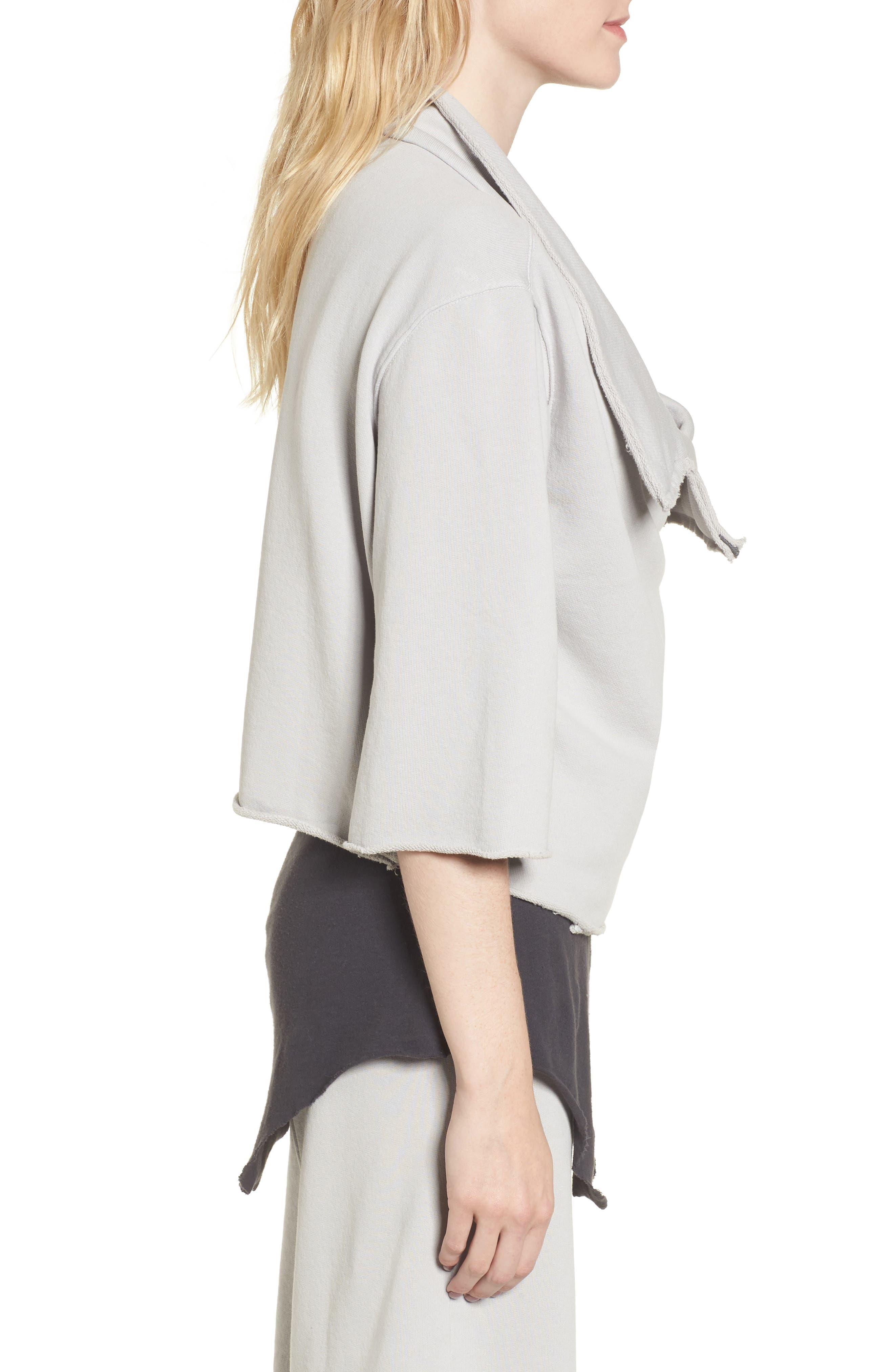 Alternate Image 3  - Frank & Eileen Tee Lab Moto Zip Sweatshirt
