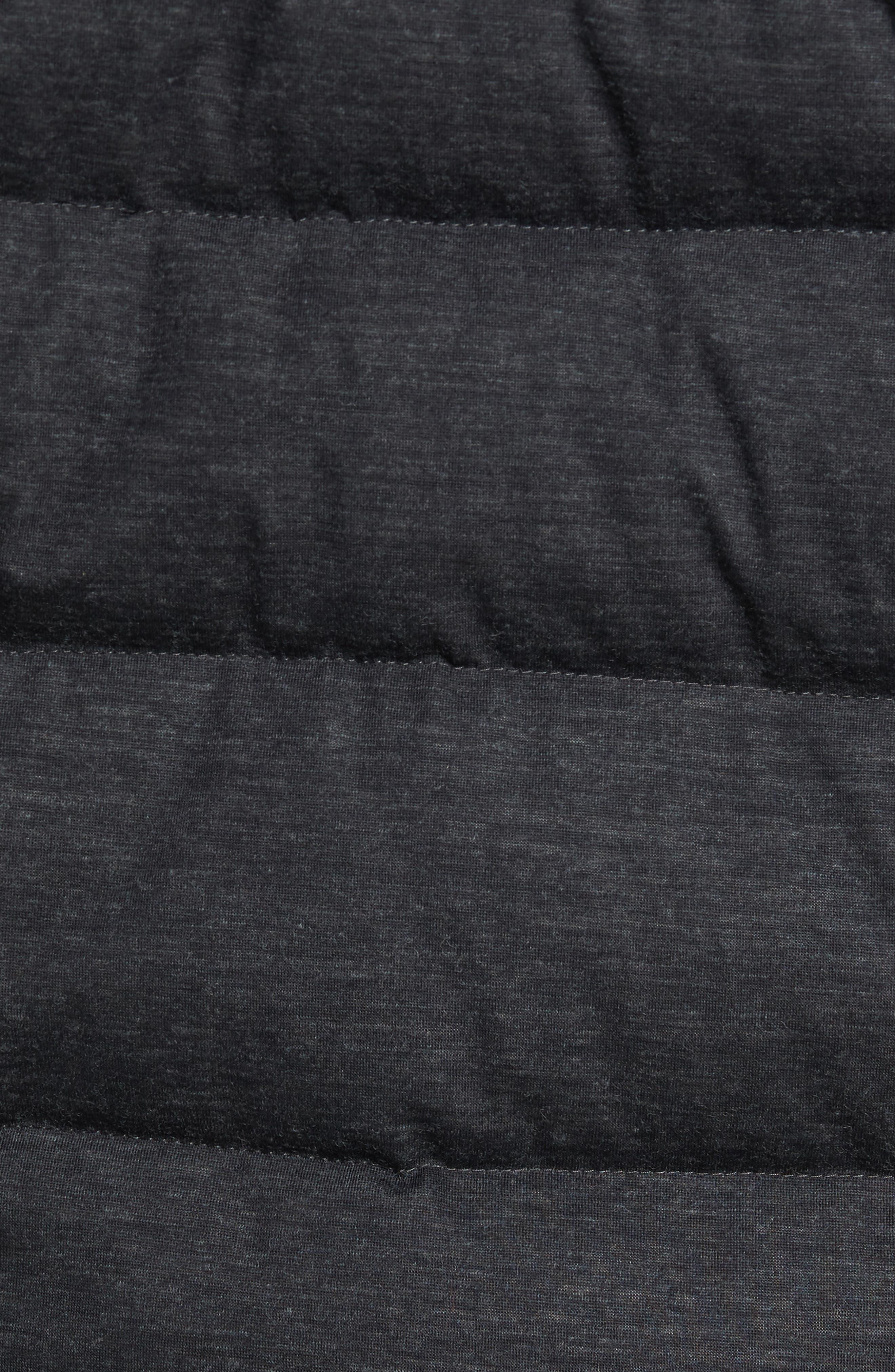 Cryos Waterproof Down Jacket,                             Alternate thumbnail 5, color,                             Dark Grey Heather