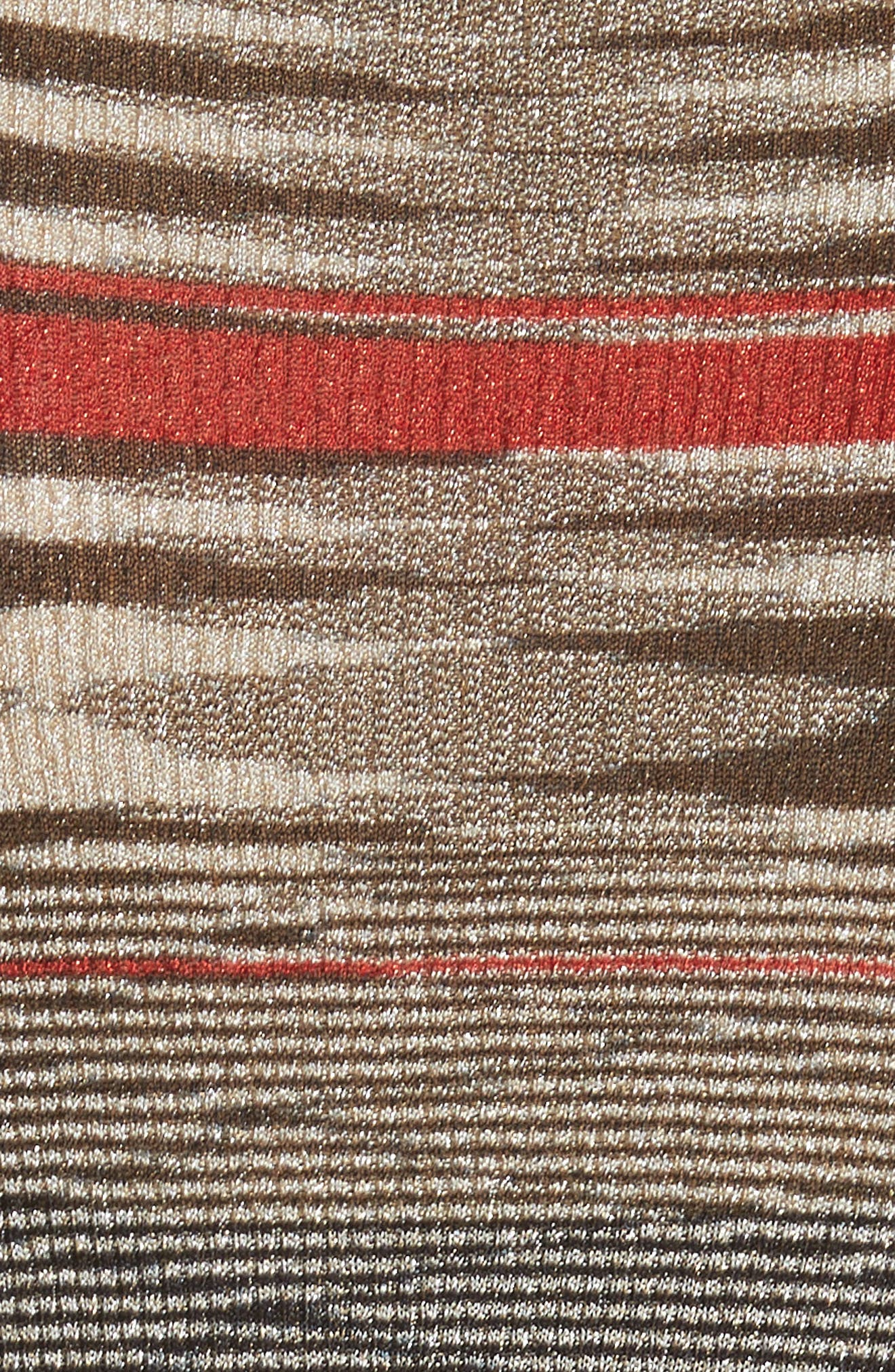 Alternate Image 5  - Missoni Stripe Space Dye Knit Dress