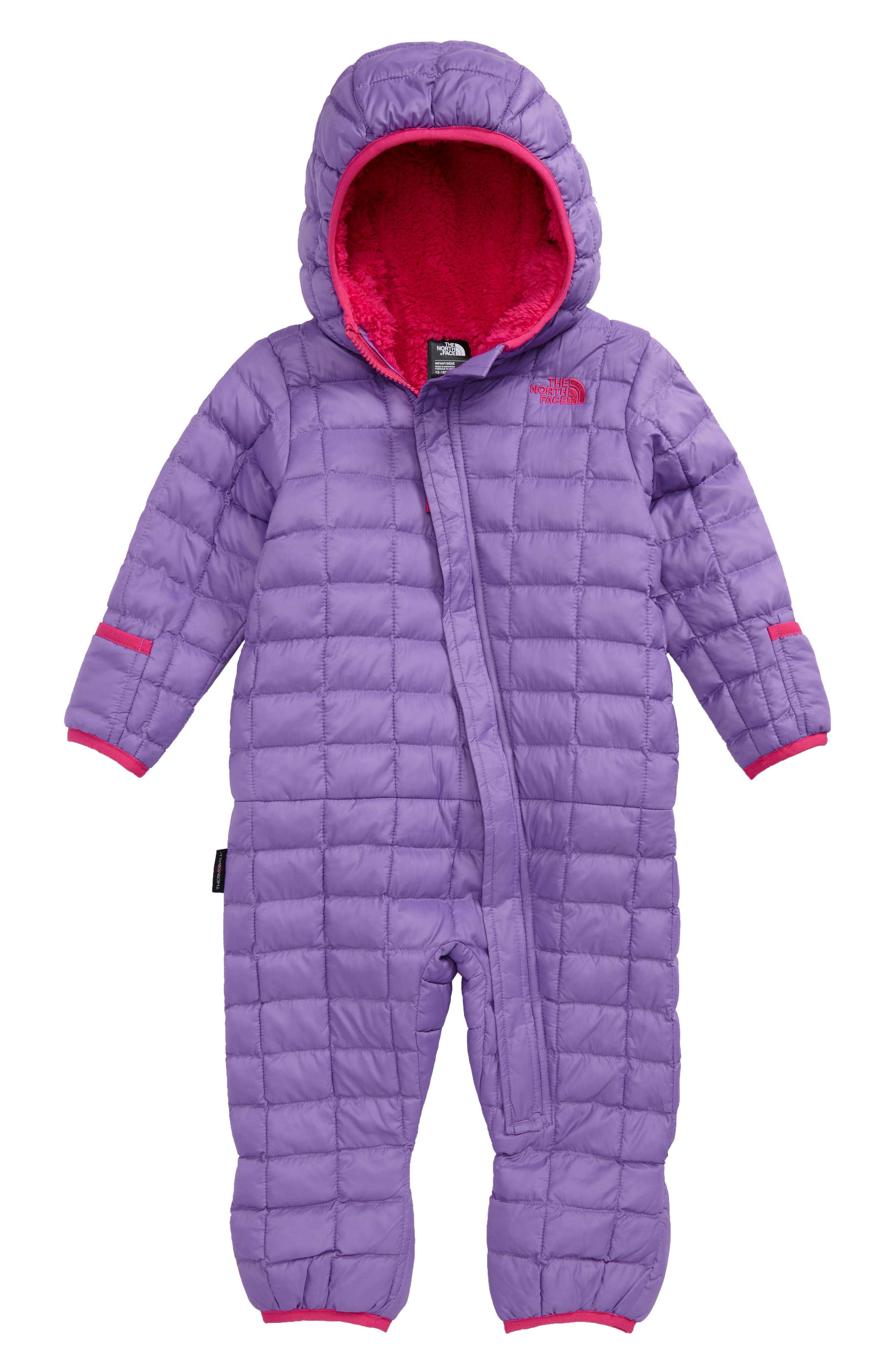 The North Face 'ThermoBall™' PrimaLoft® Bunting (Baby Girls)