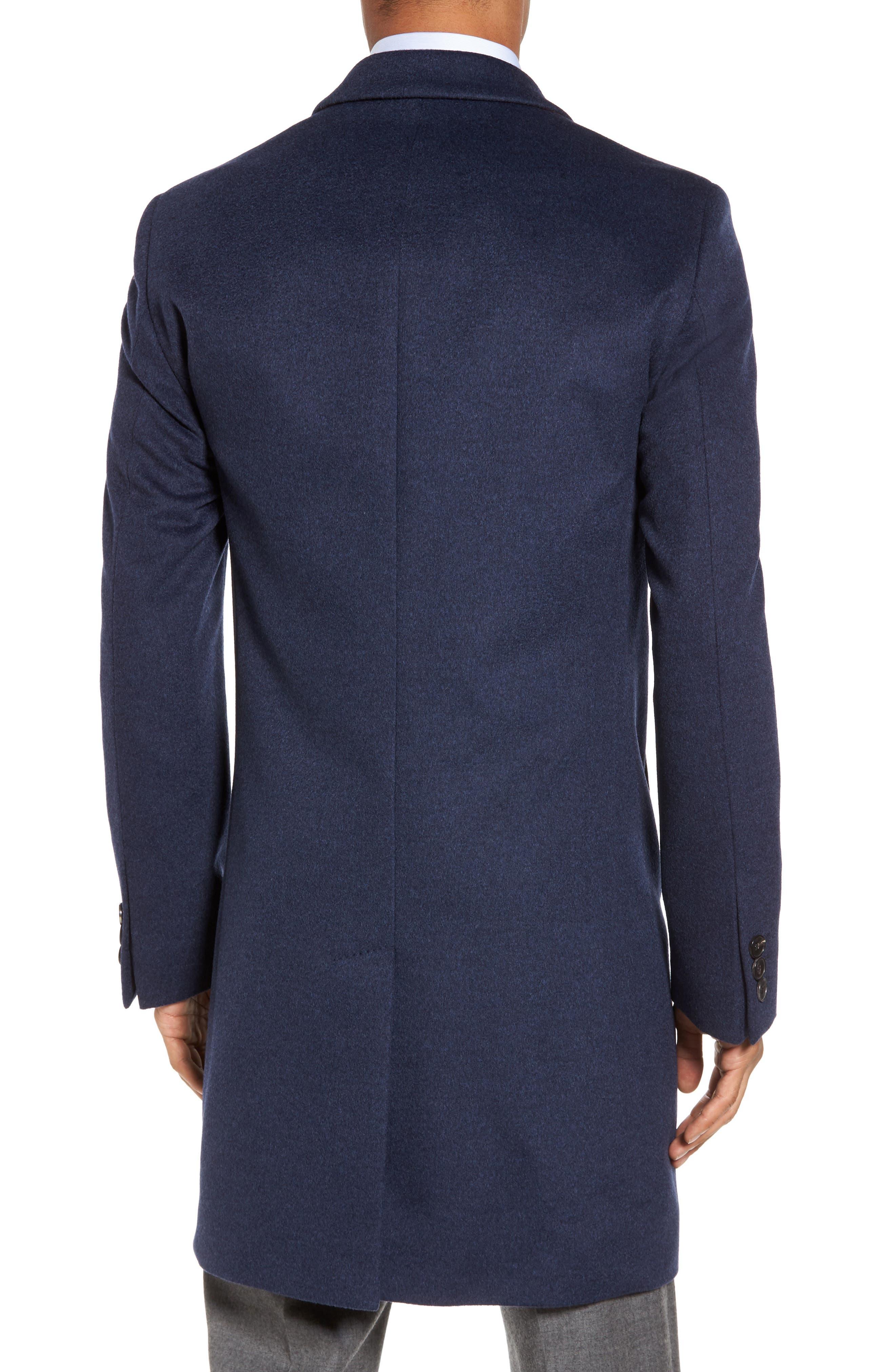 Alternate Image 2  - BOSS Nye Wool & Cashmere Topcoat