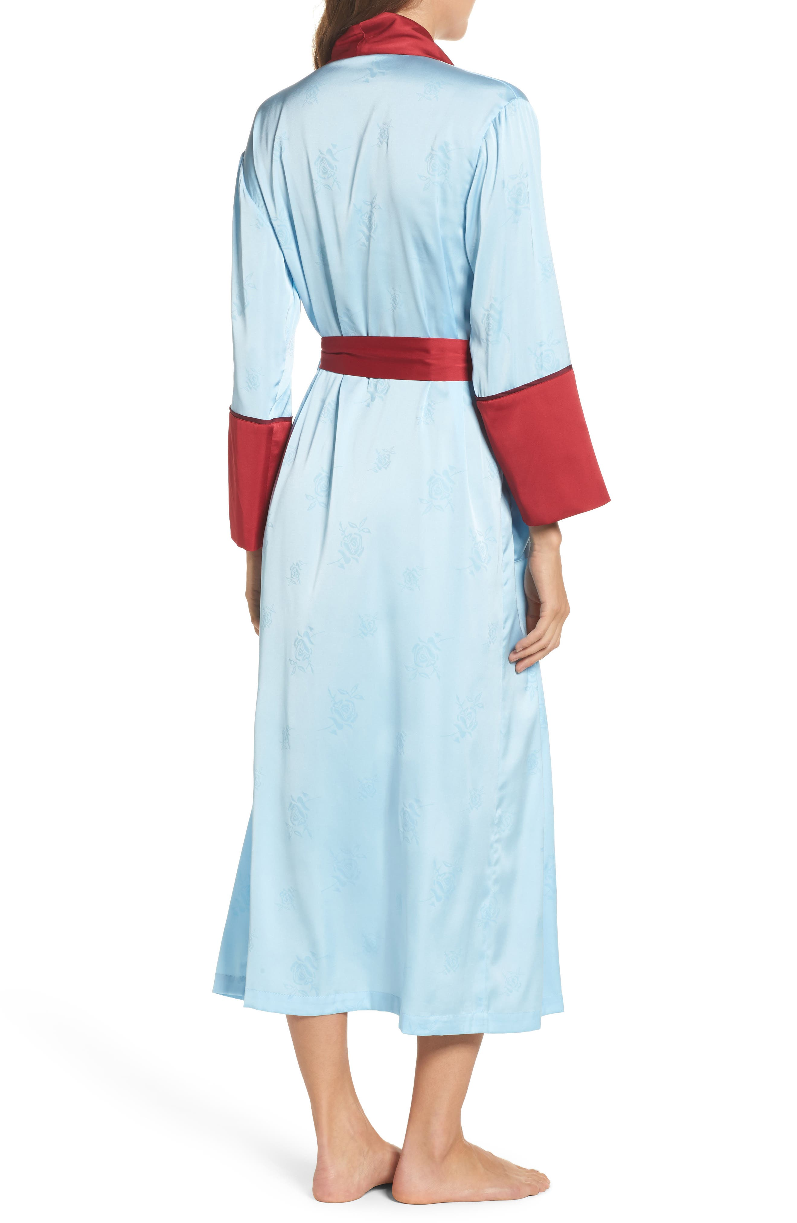 Robe,                             Alternate thumbnail 2, color,                             Light Blue