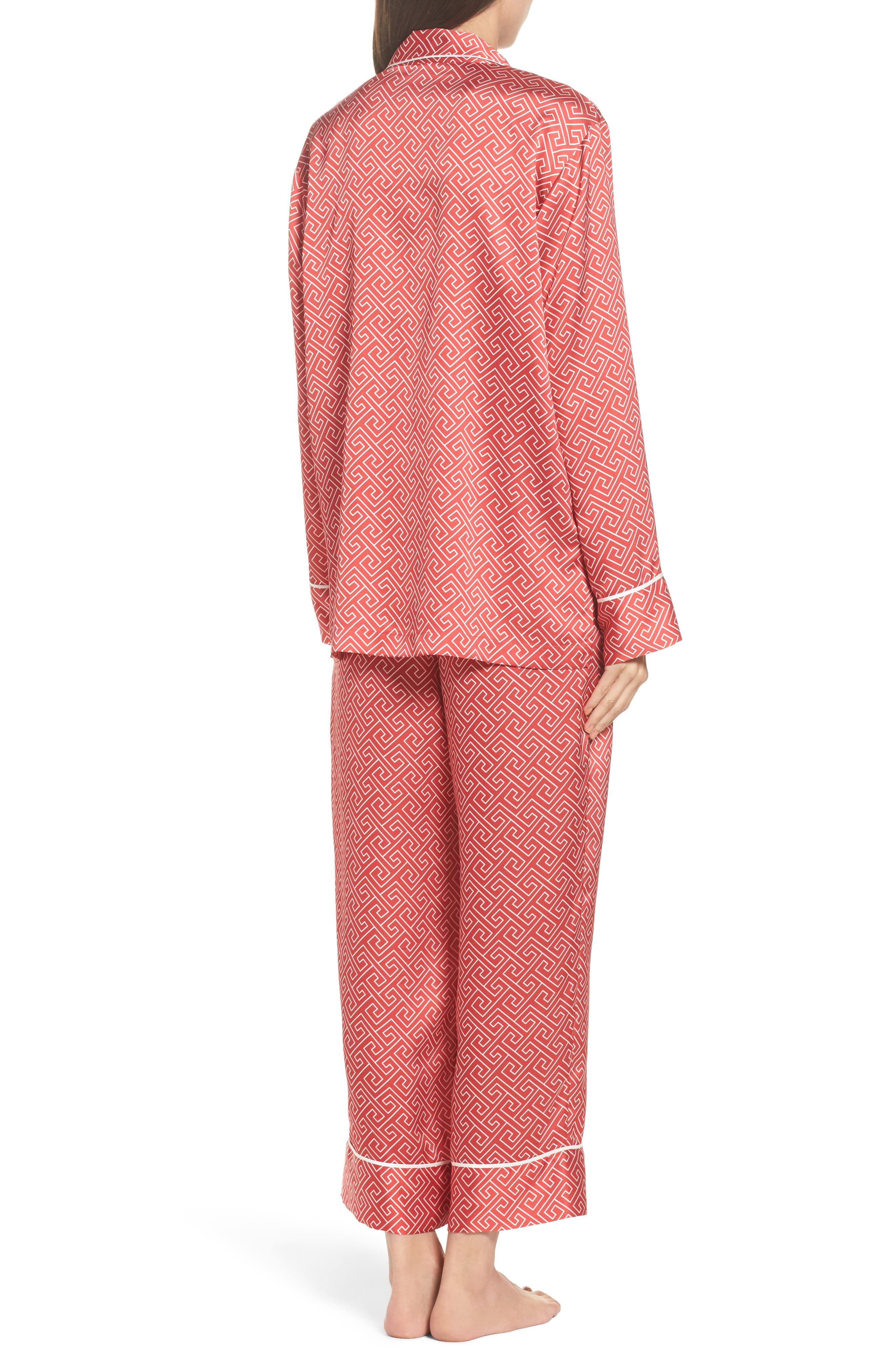 Alternate Image 2  - Natori Labyrinth Satin Pajamas