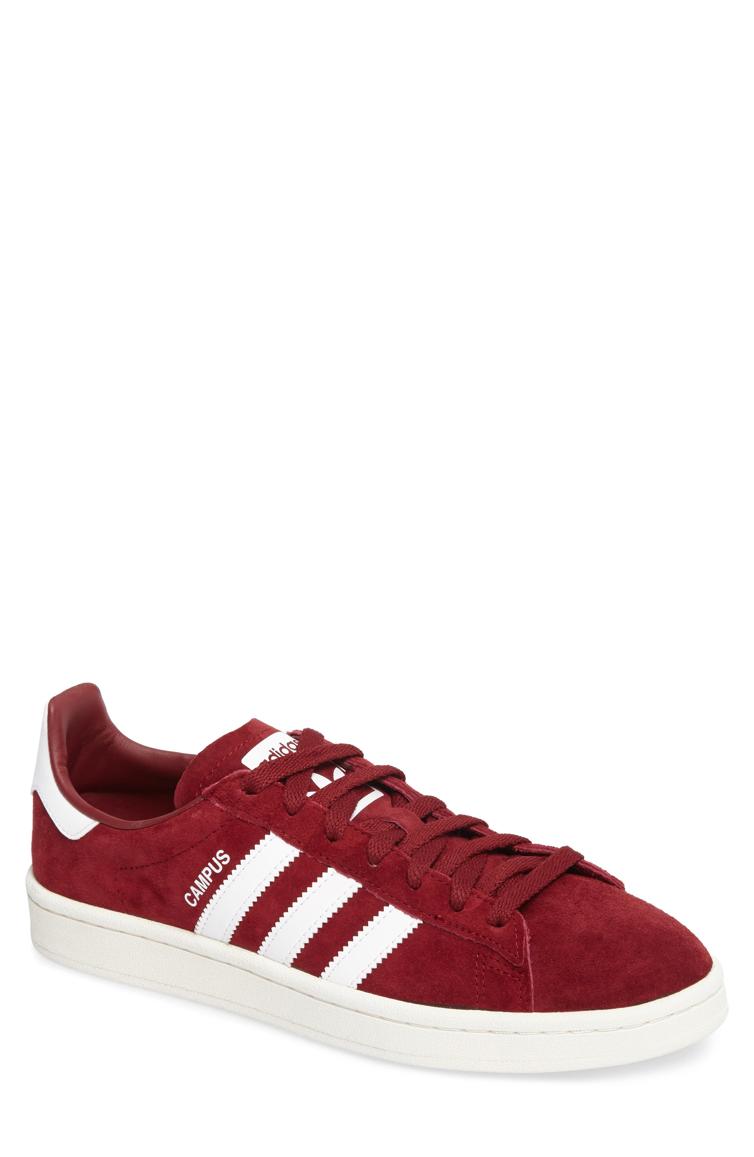 Campus Sneaker,                             Main thumbnail 1, color,                             Collegiate Burgundy/ White