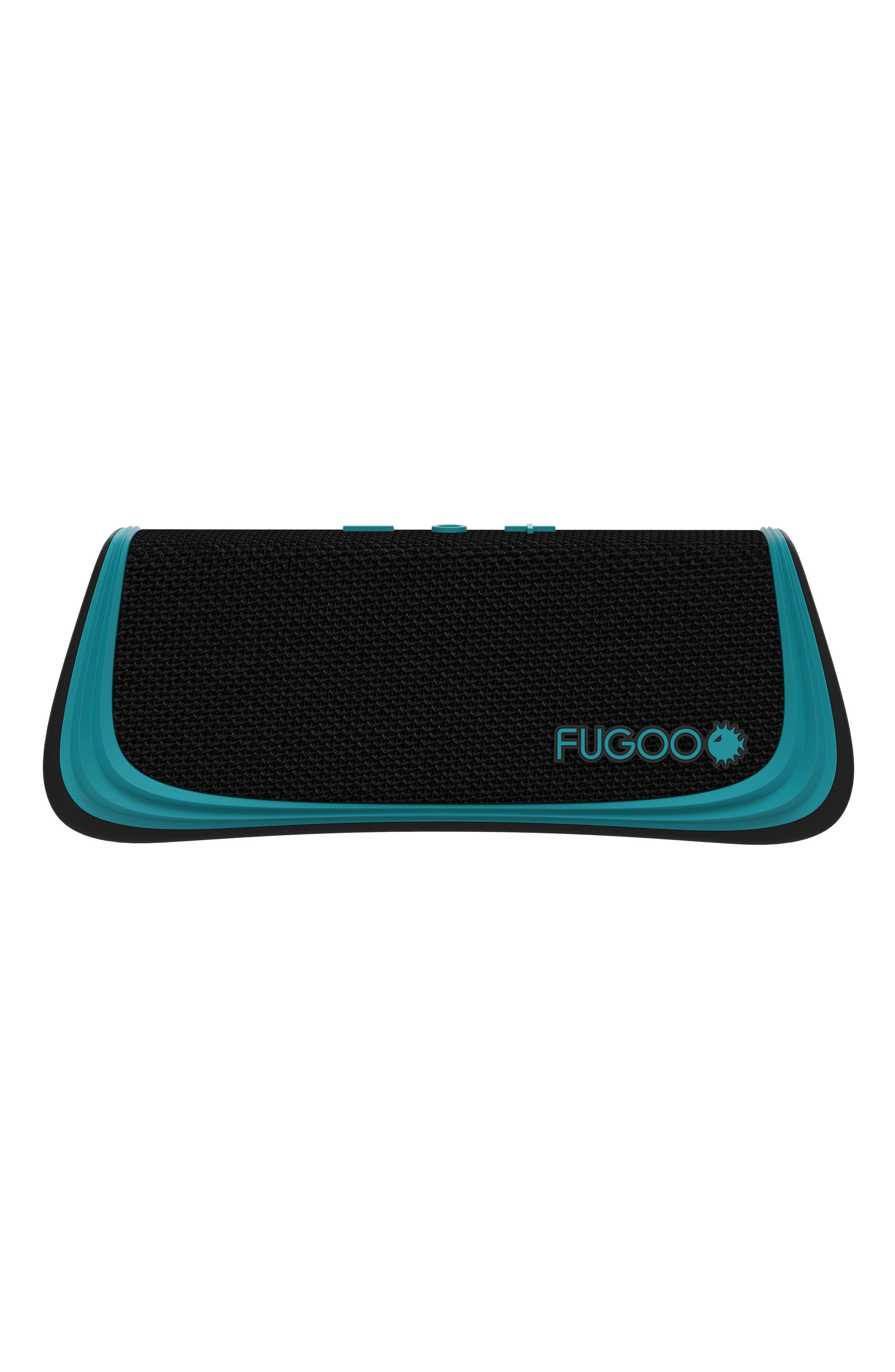 Sport Waterproof Bluetooth Speaker,                         Main,                         color, Black/ Blue