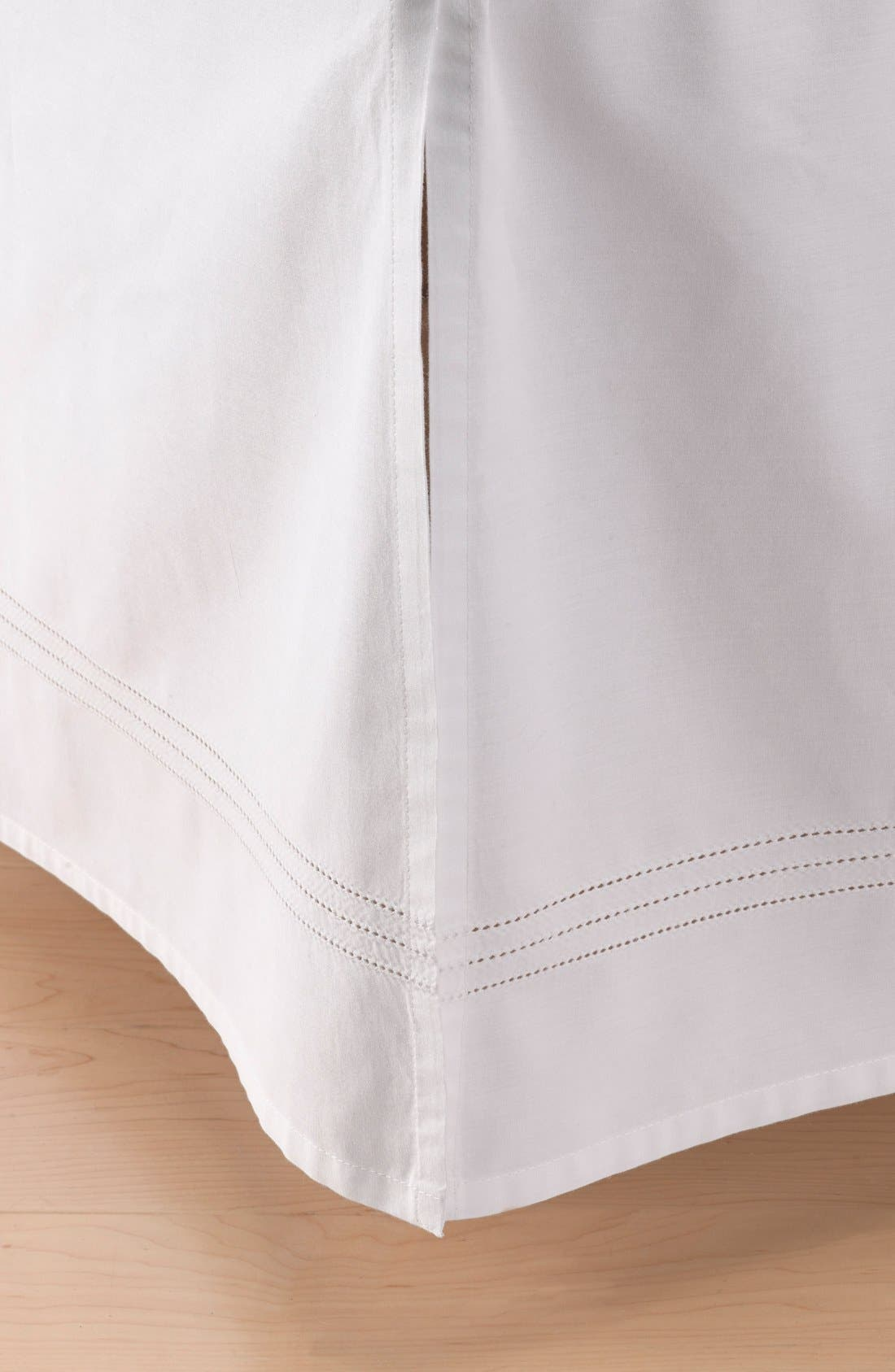 'Sweet Dreams' Crib Skirt,                         Main,                         color, White