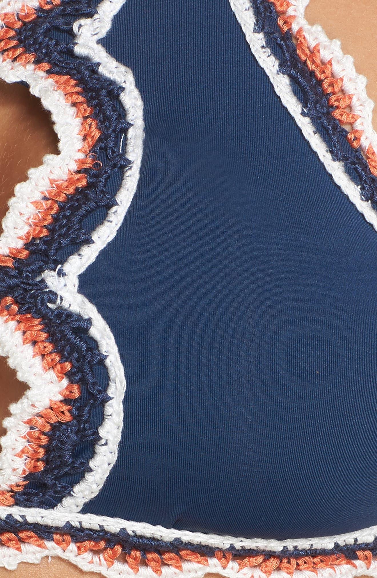 Alternate Image 5  - Becca Medina High Neck Bikini Top