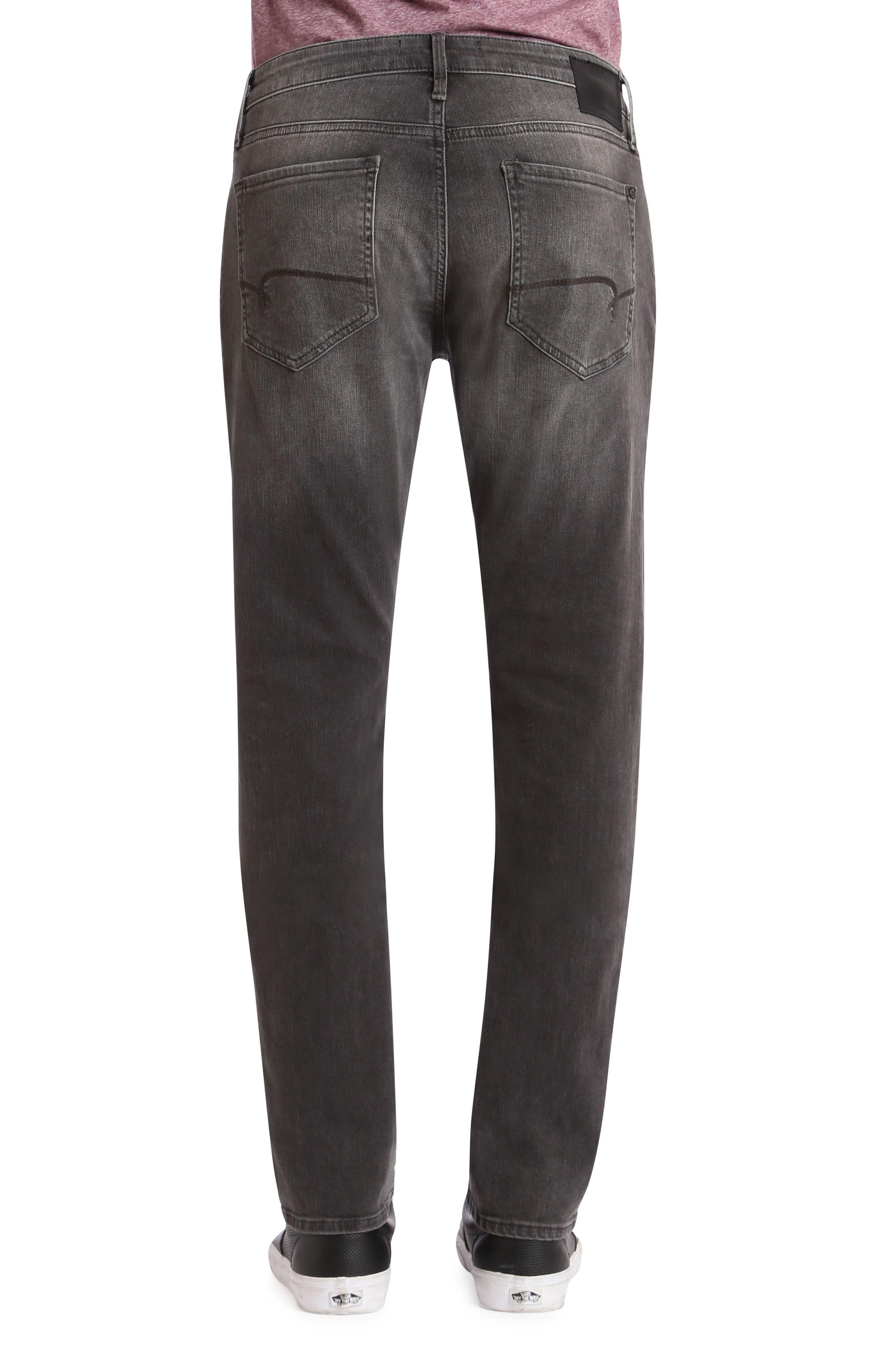 Alternate Image 2  - Mavi Jeans Jake Slim Fit Jeans (Grey Distressed Williamsburg)