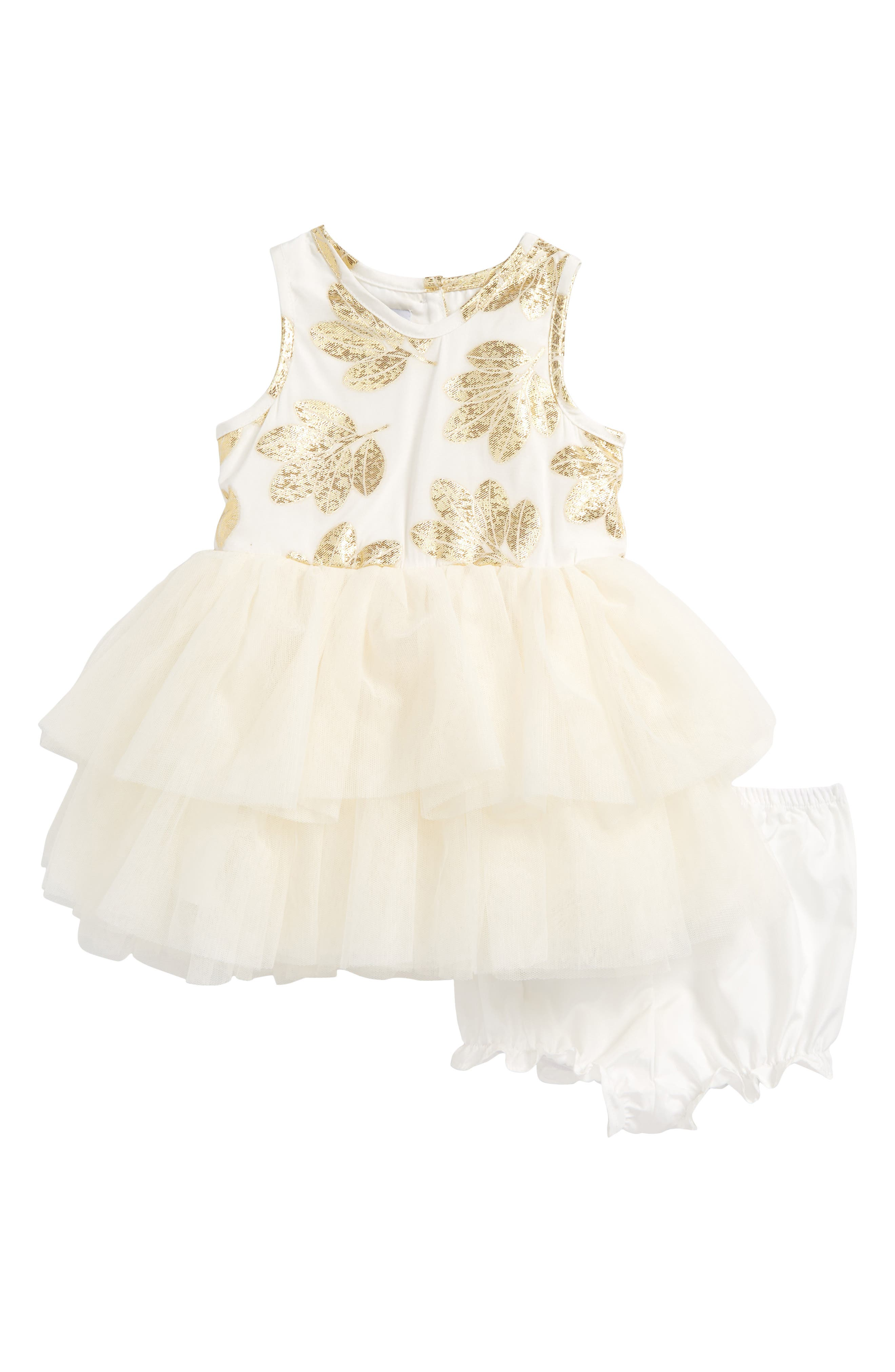 Pippa & Julie Tiered Tulle Dress (Baby Girls)
