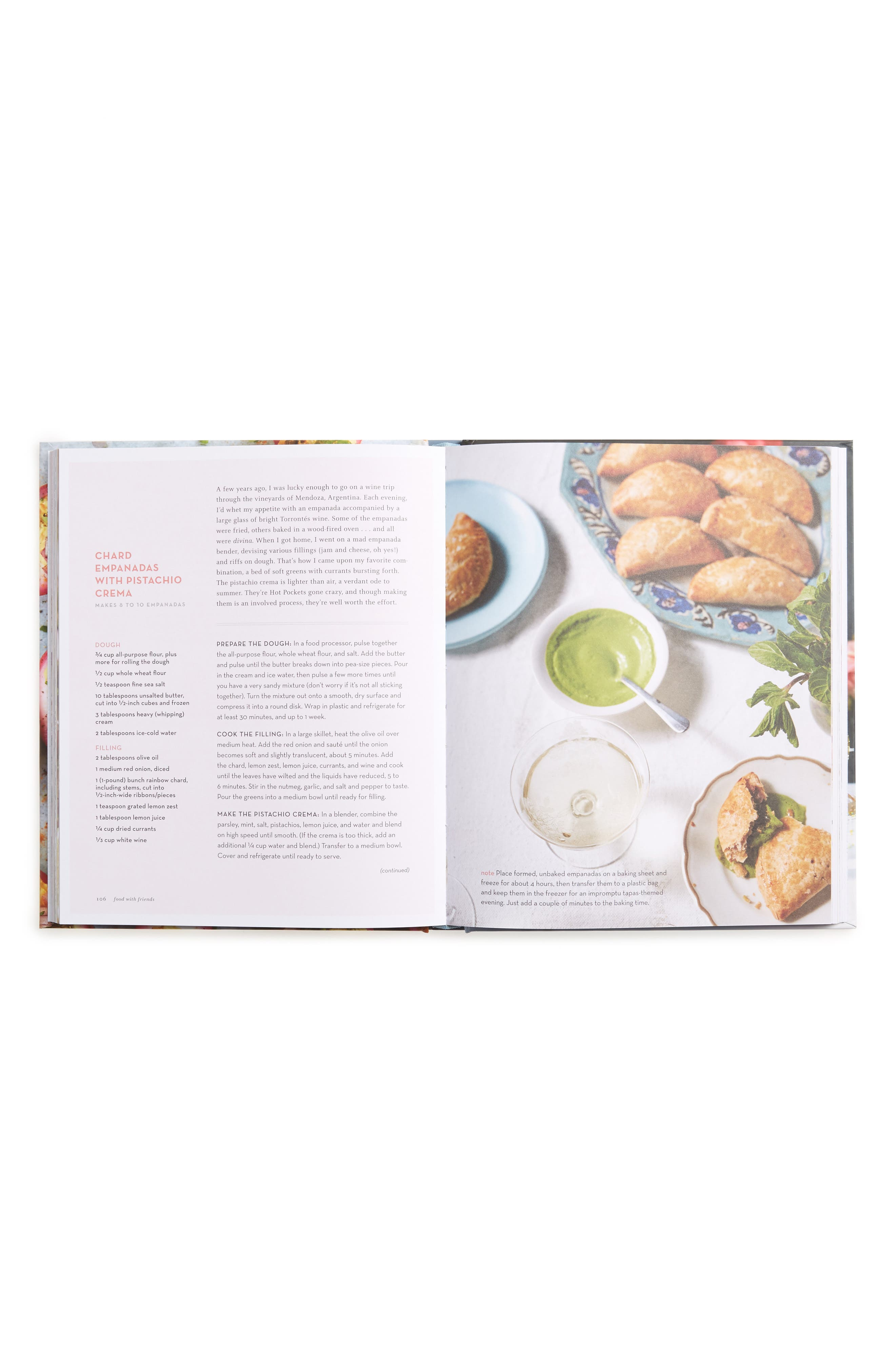 Food with Friends: The Art of Simple Gatherings Book,                             Alternate thumbnail 4, color,                             Pink